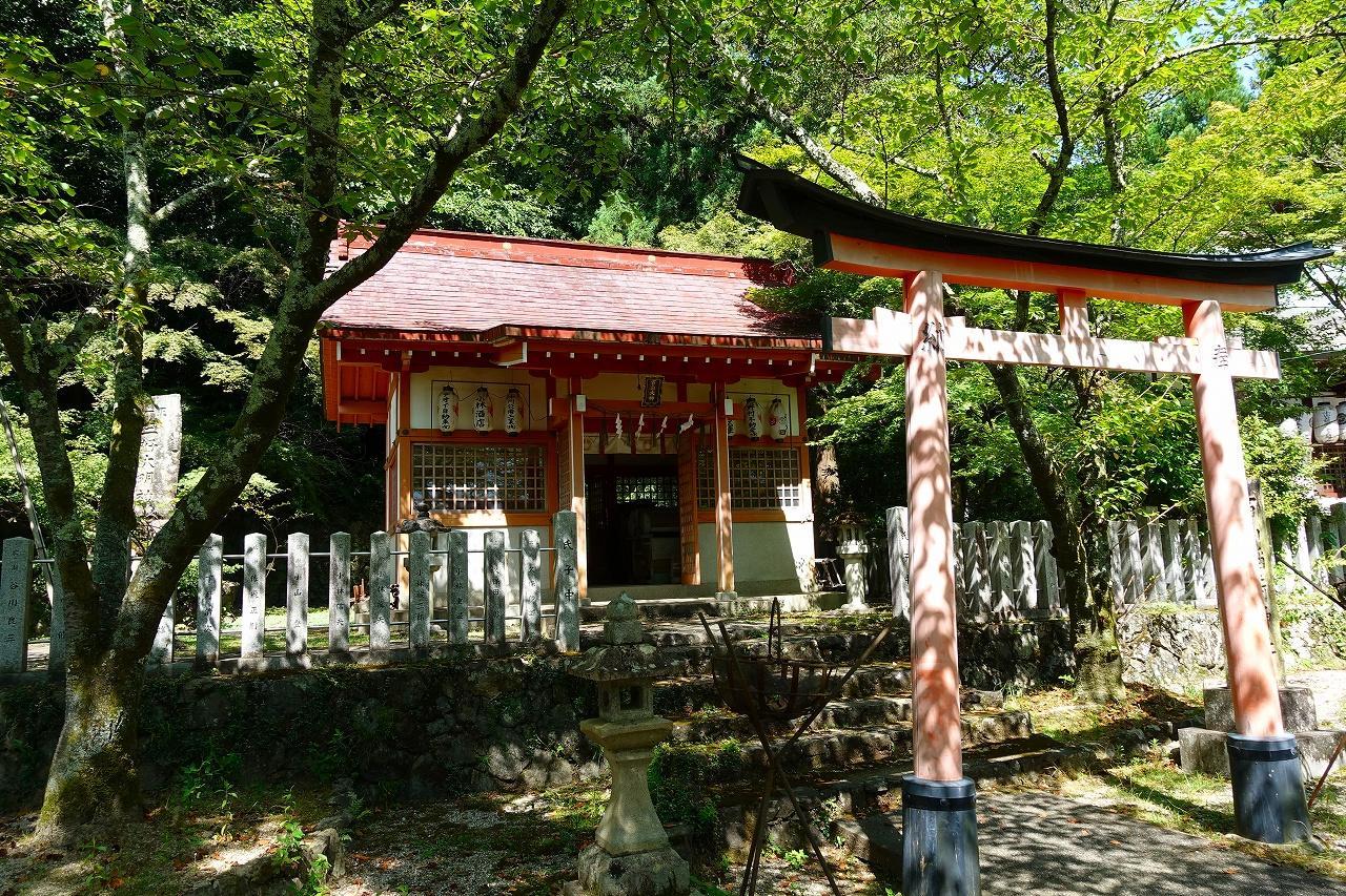 若山神社の本殿