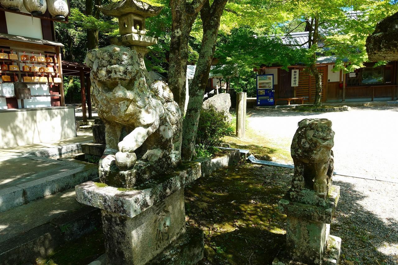 若山神社の狛犬