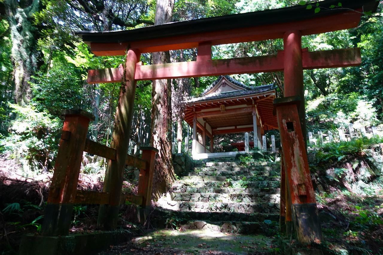 若山神社の鳥居