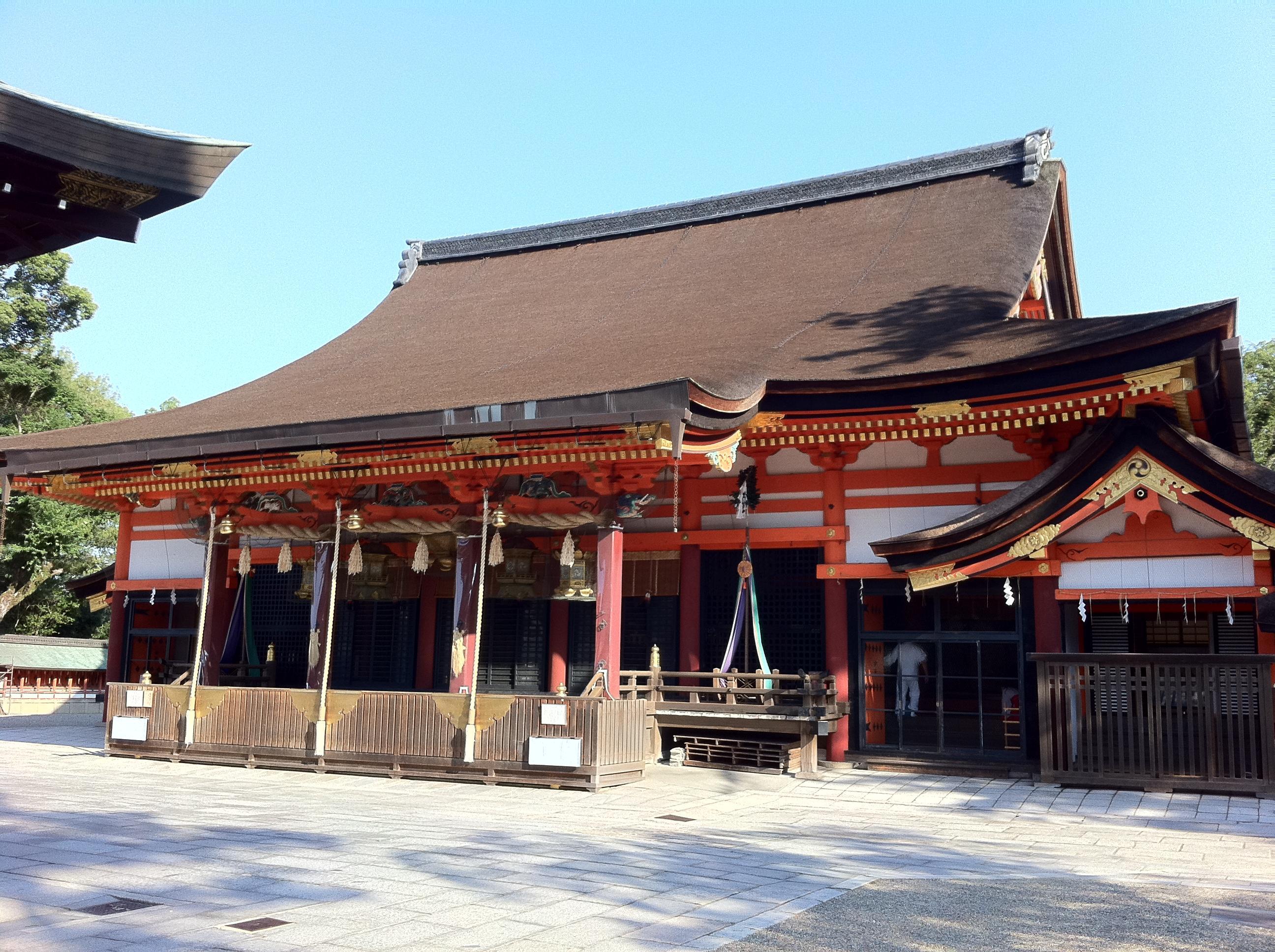 八坂神社(祇園さん)の本殿