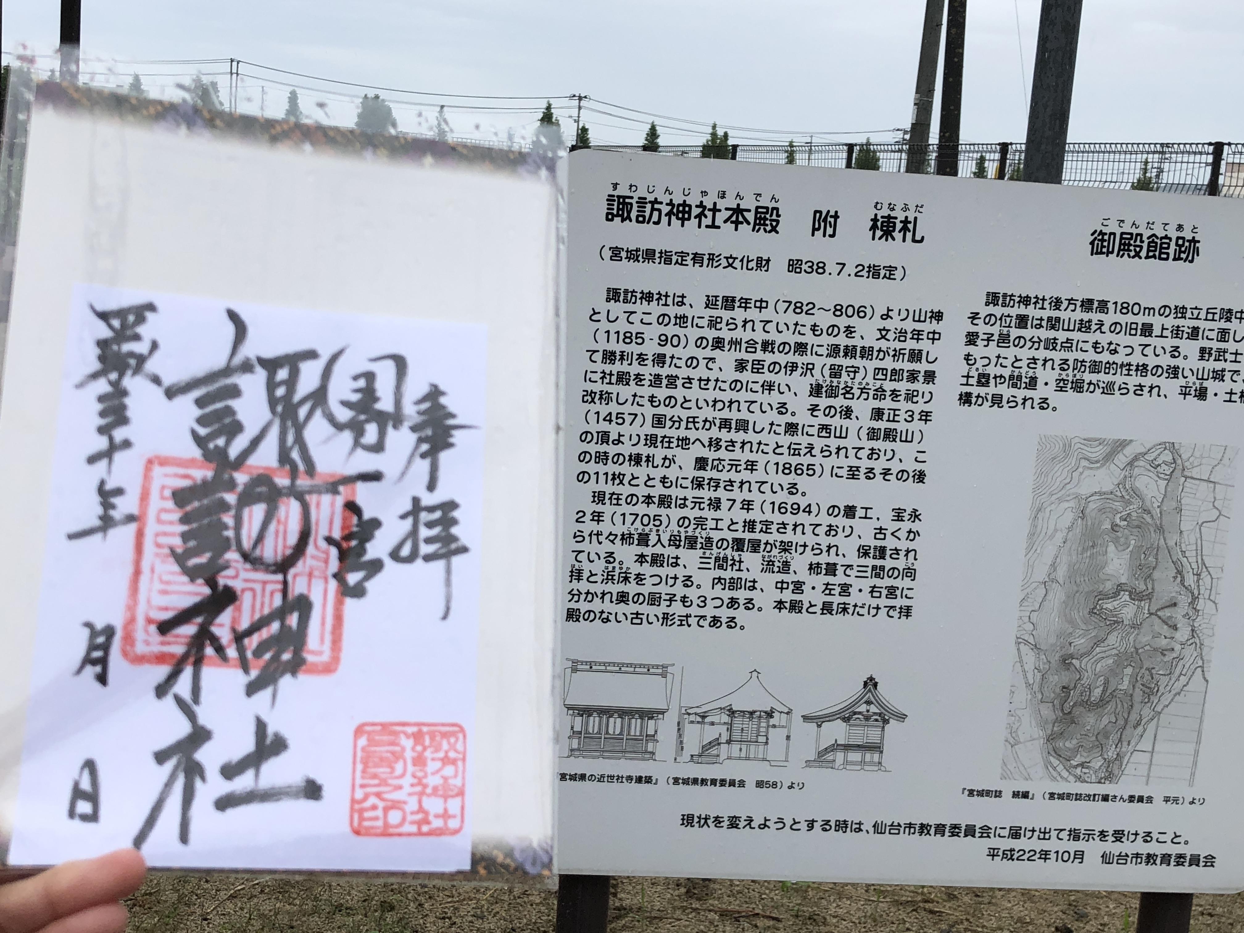 諏訪神社の歴史