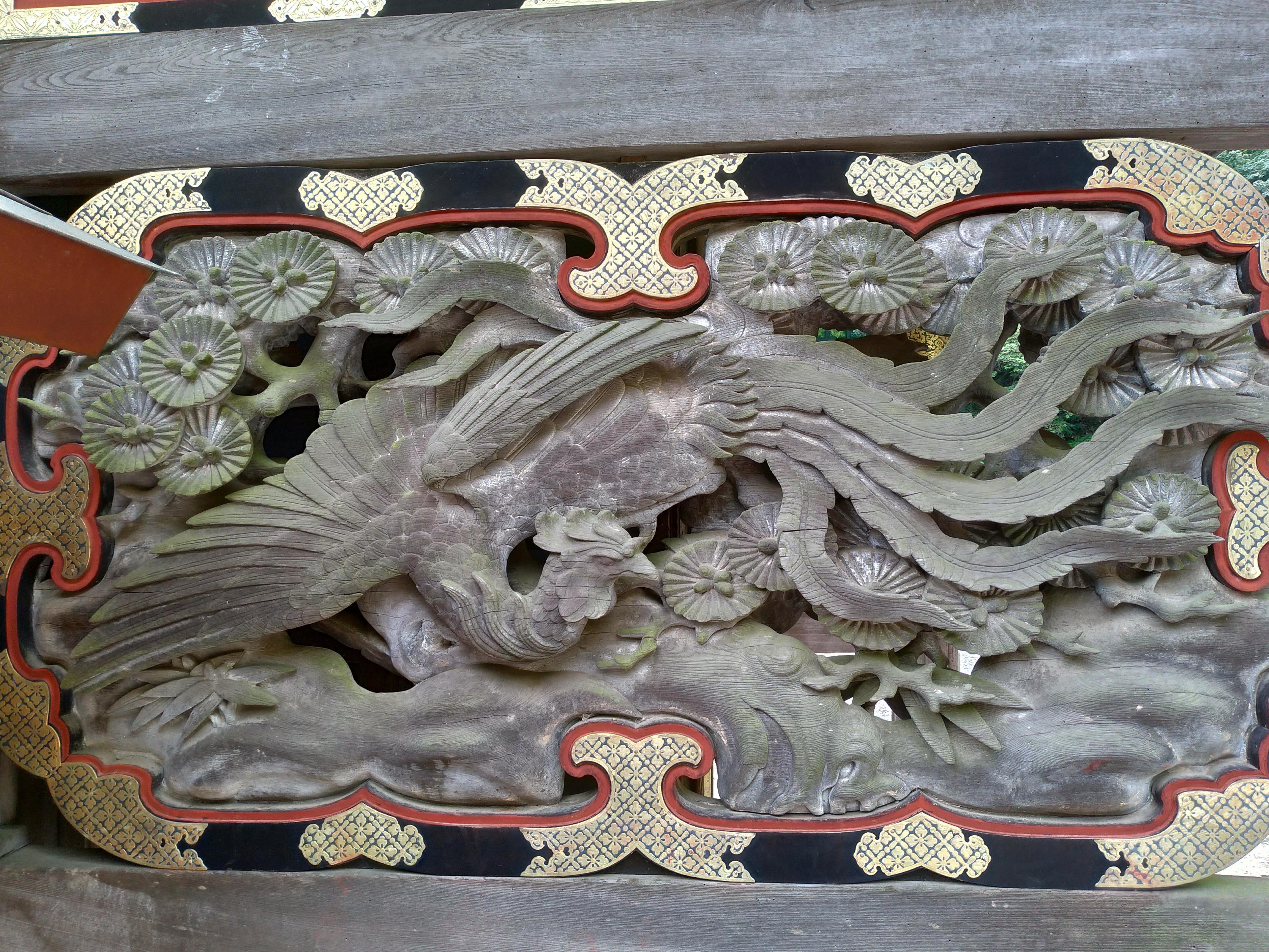 妙義神社の芸術