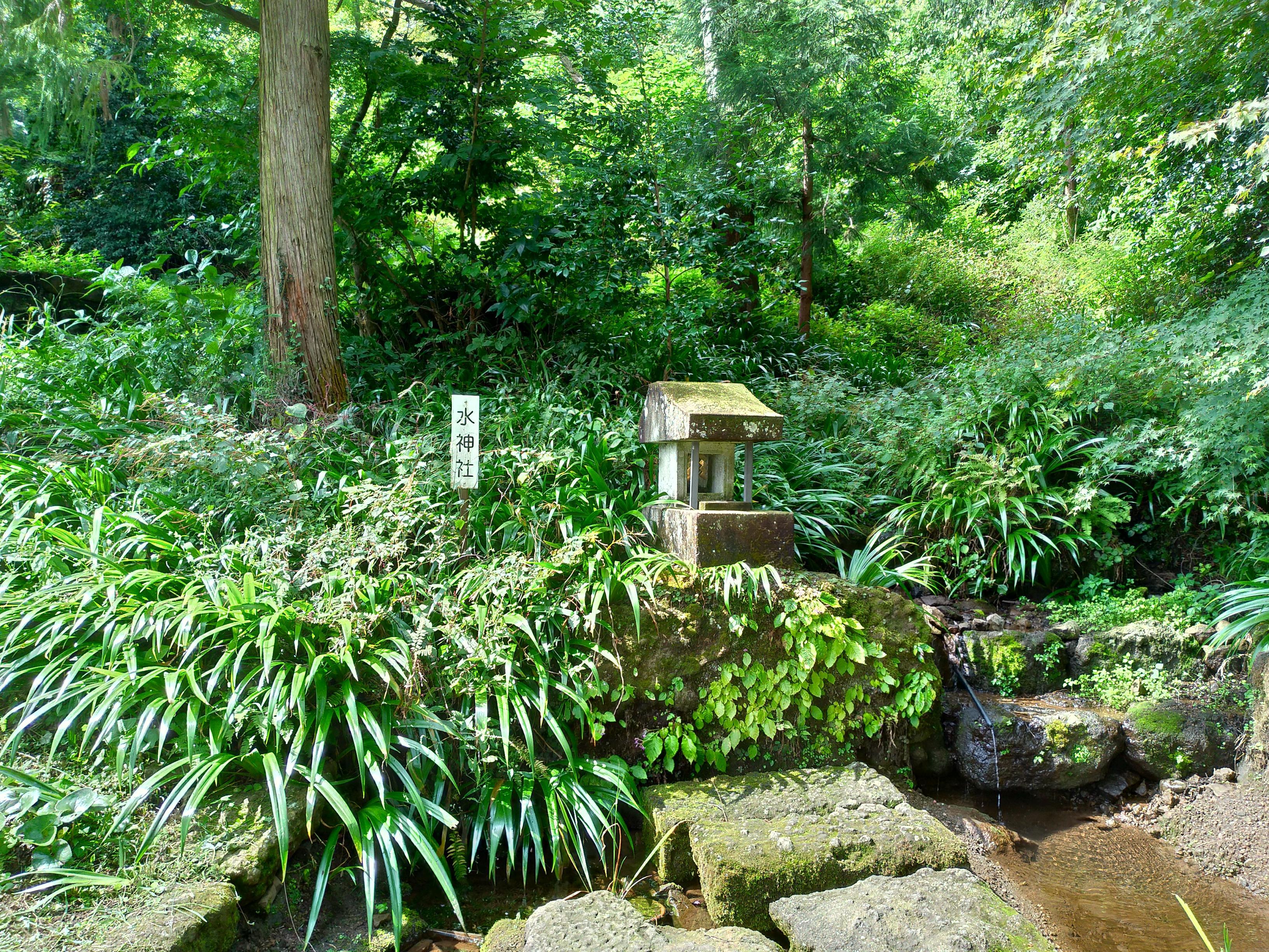 妙義神社の庭園