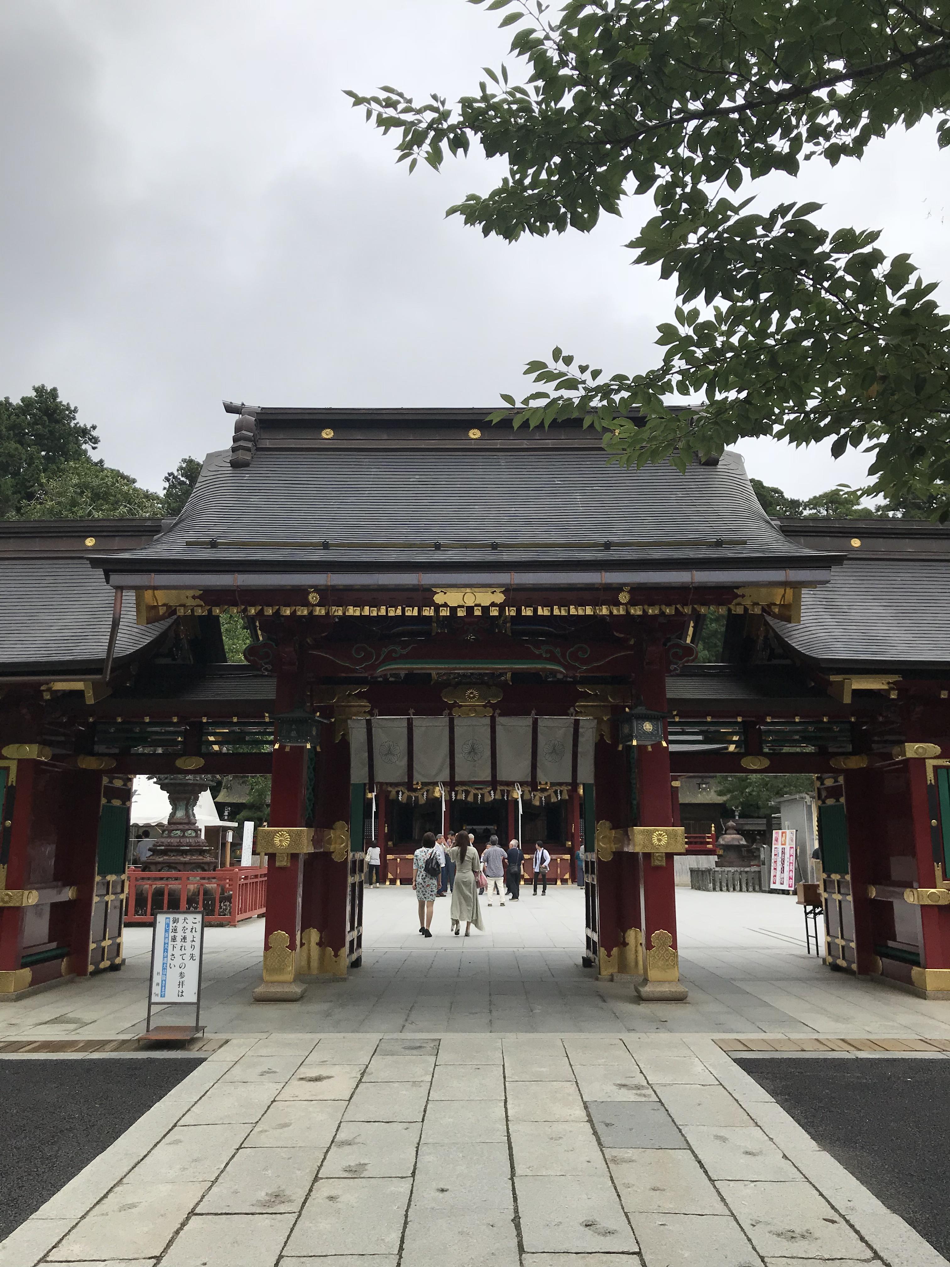 志波彦神社・鹽竈神社の山門