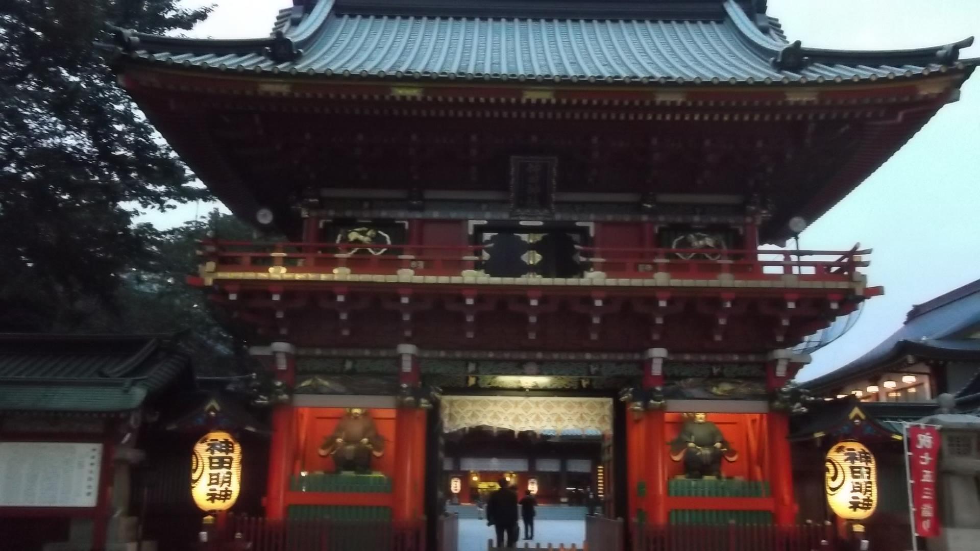 神田神社(神田明神)の山門
