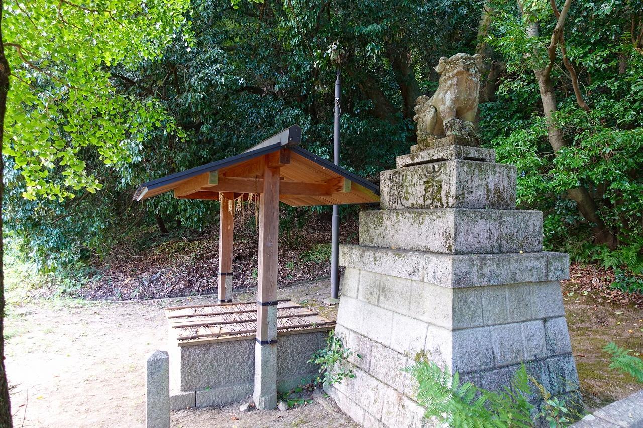 石清水八幡宮の狛犬