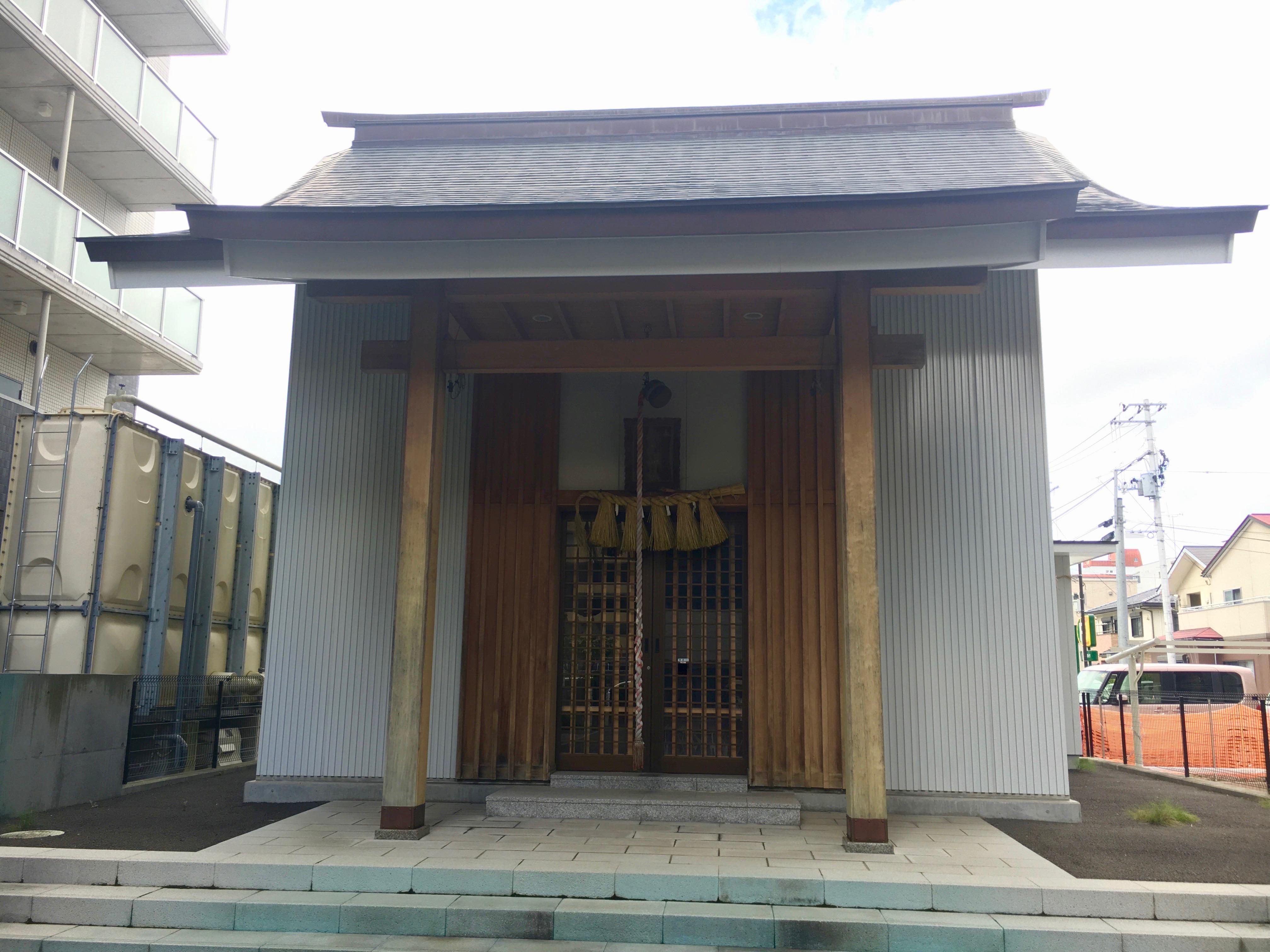 矢先神社の本殿