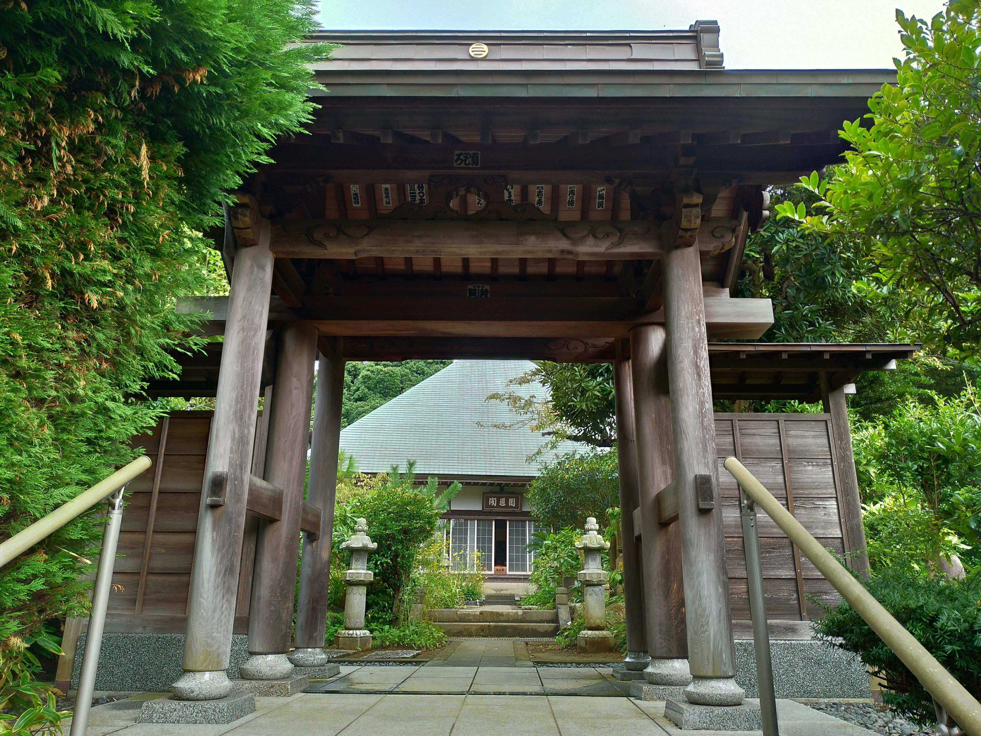 清雲寺の山門