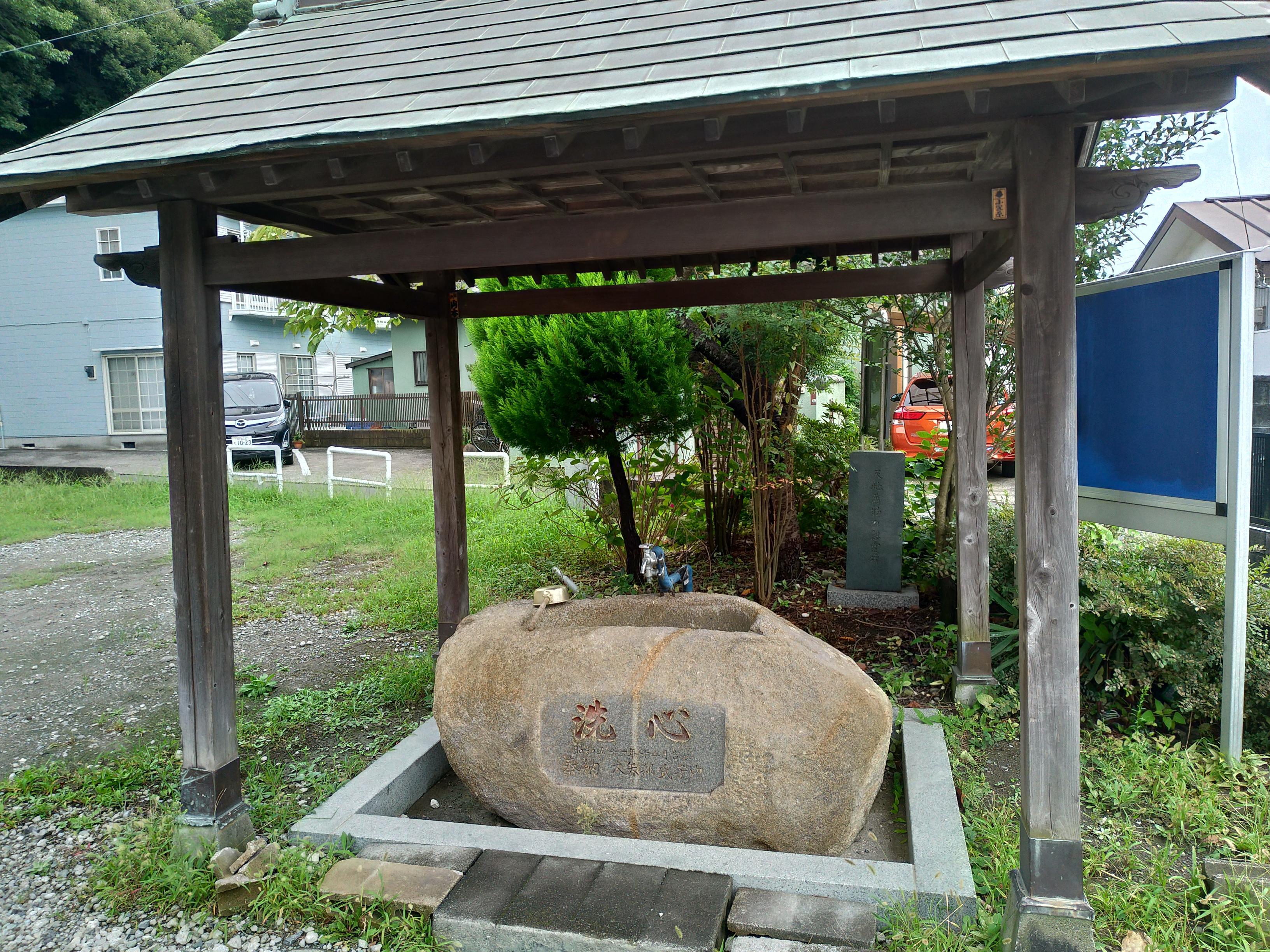 近殿神社の手水