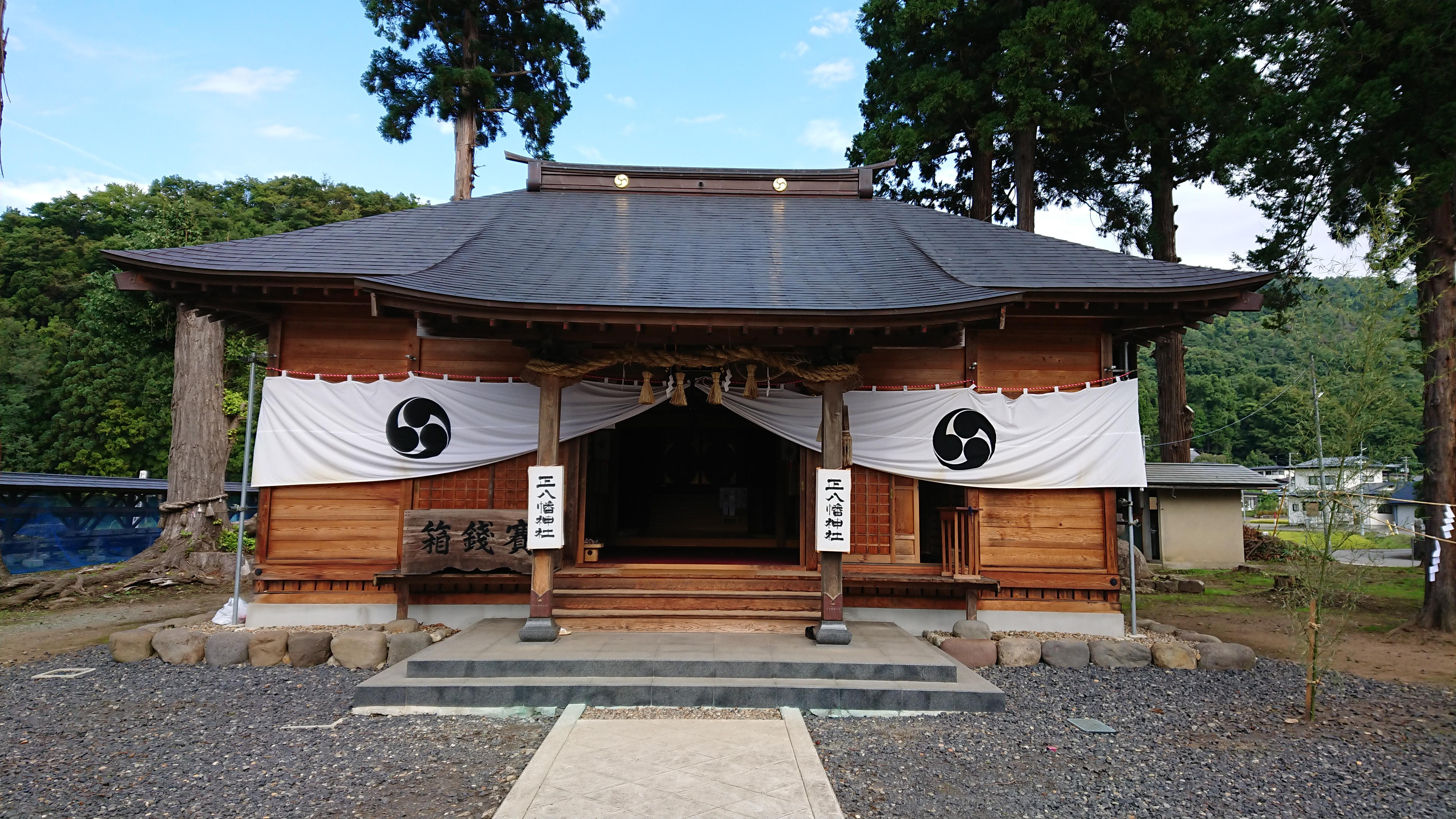 正八幡神社の本殿