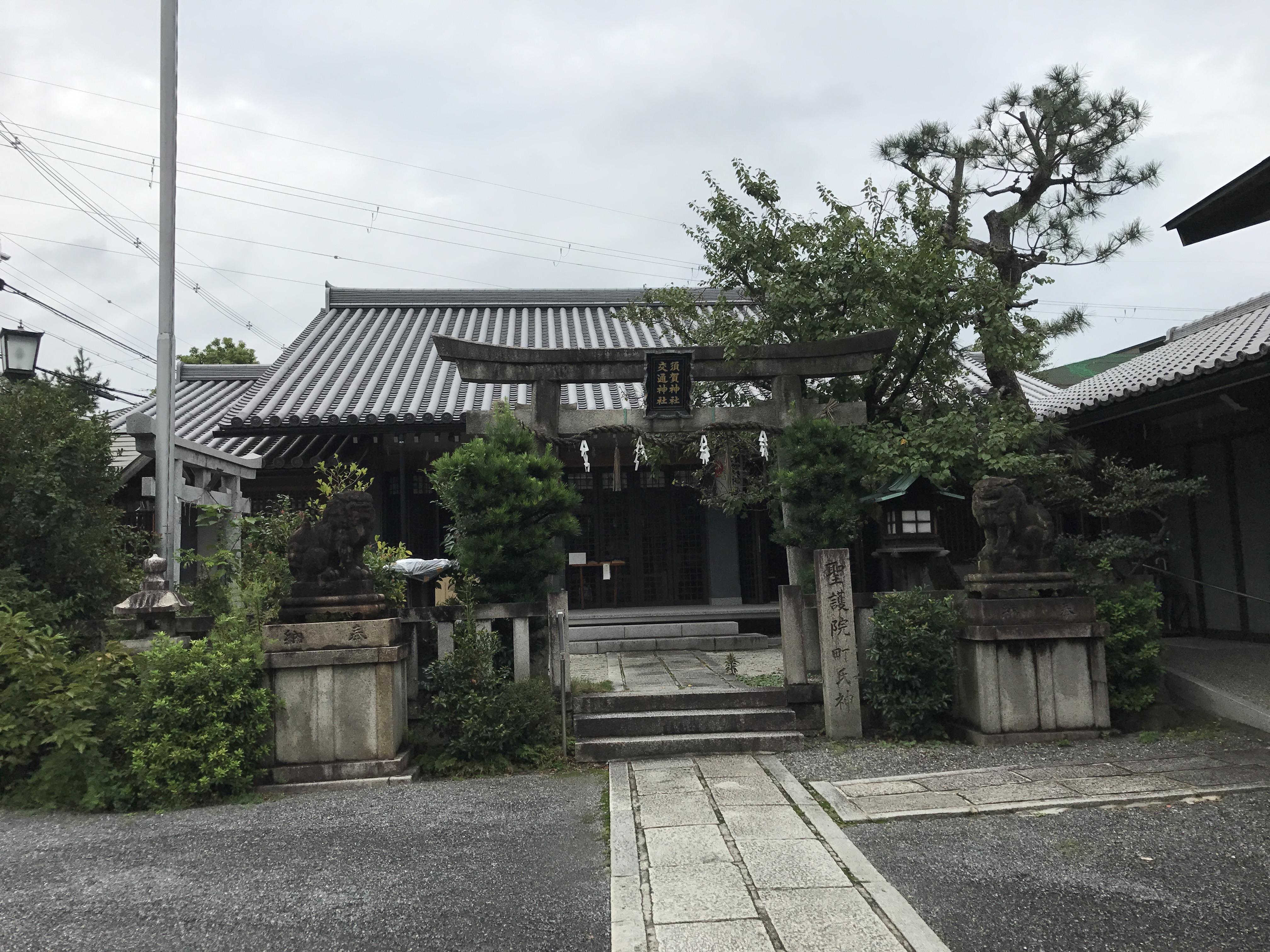 須賀神社の本殿