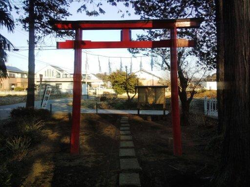 伊夜彦神社の鳥居