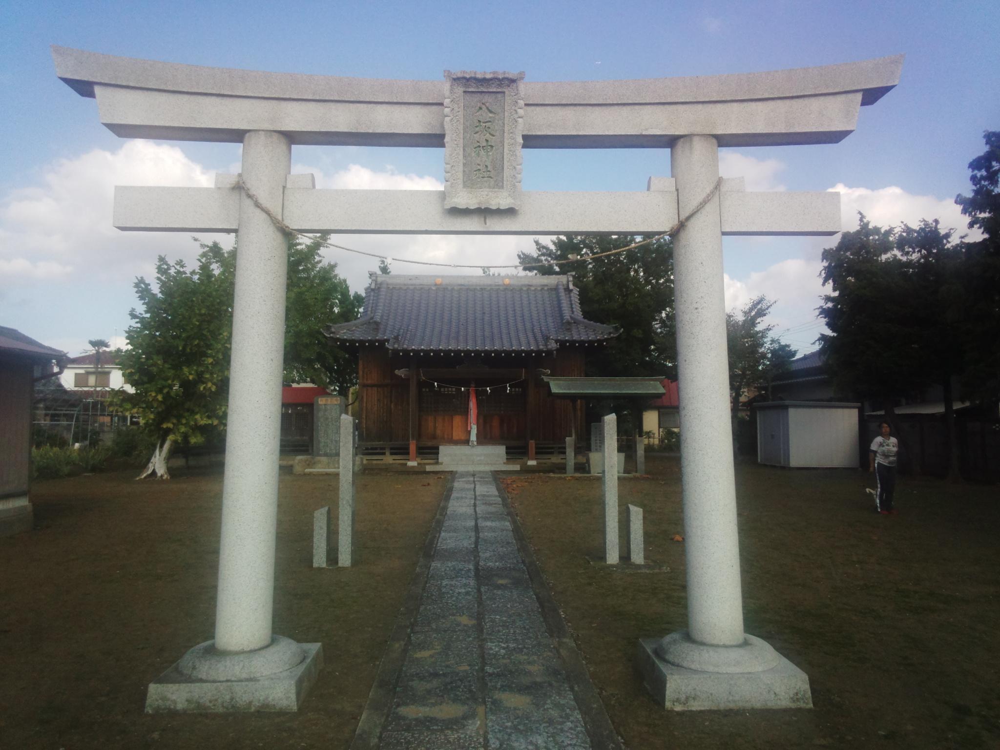 柿木八坂神社の鳥居