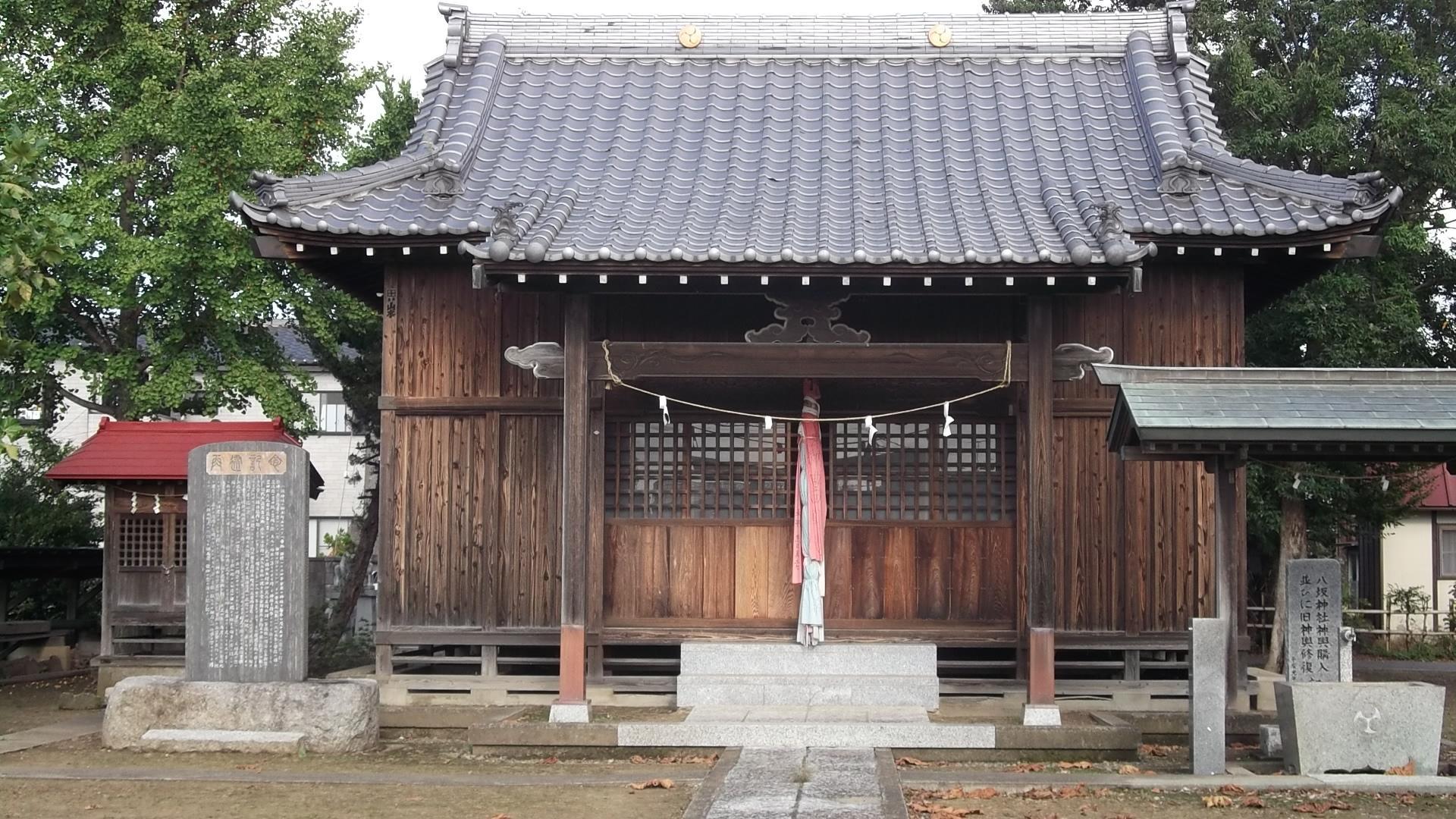 柿木八坂神社の本殿