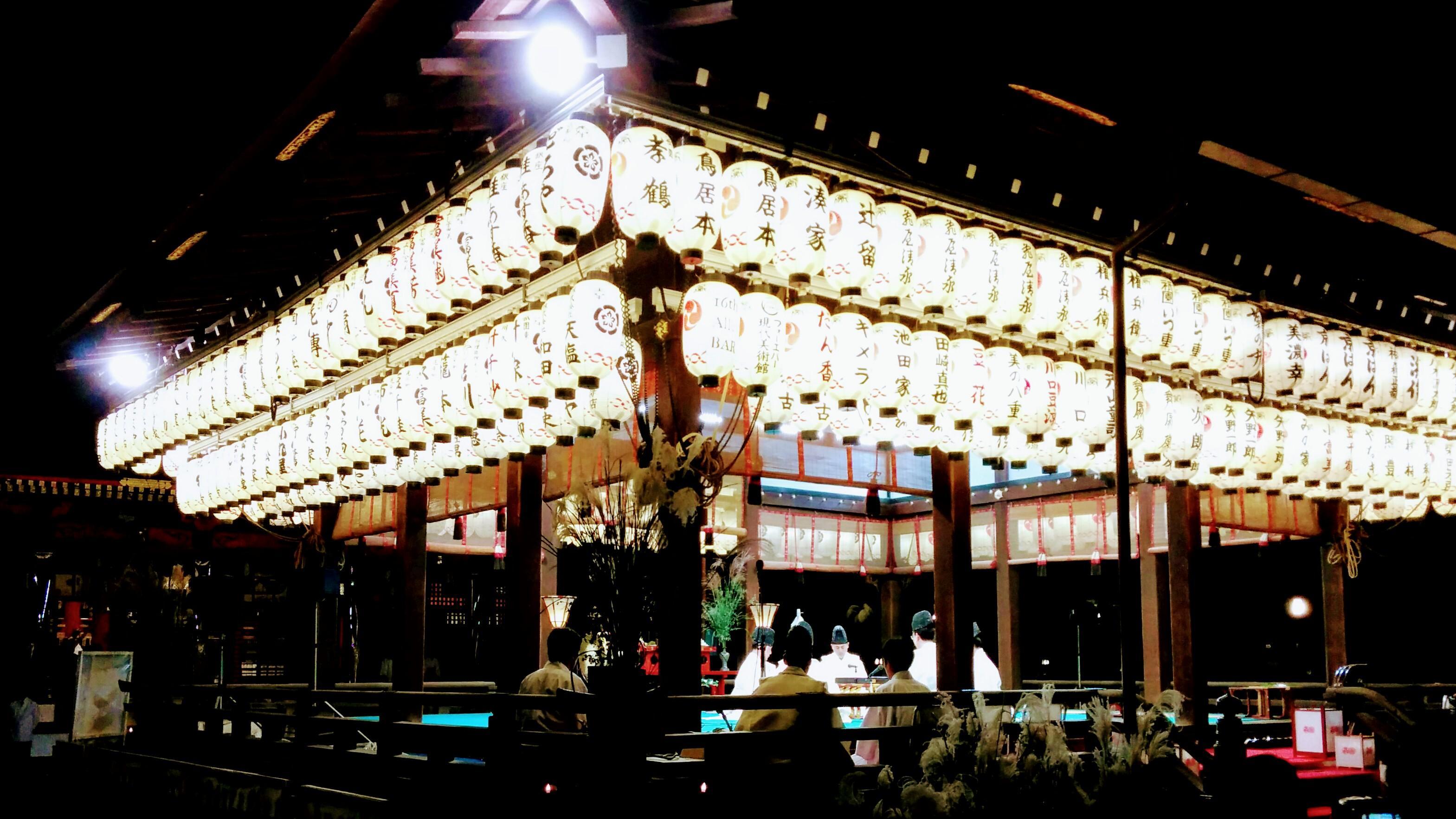 八坂神社(祇園さん)の神楽