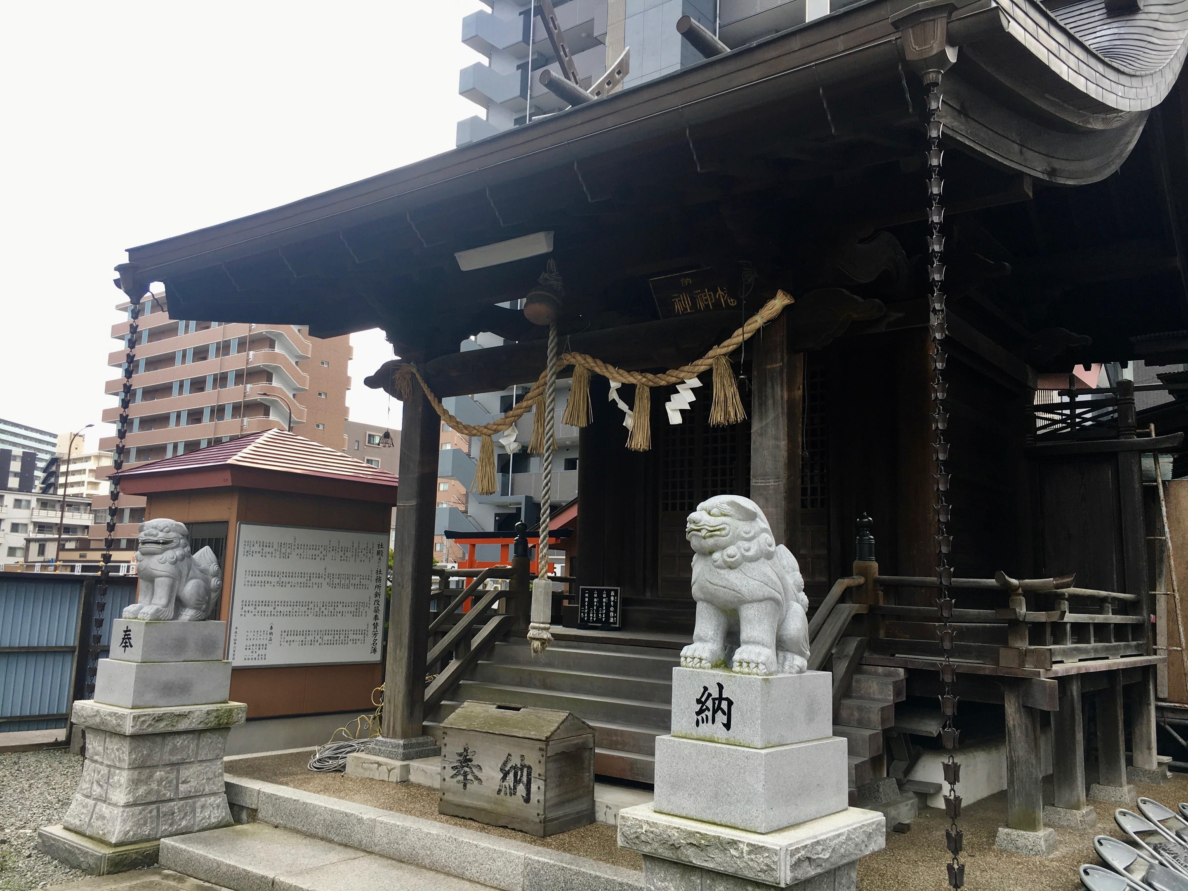 小田原八幡神社の本殿