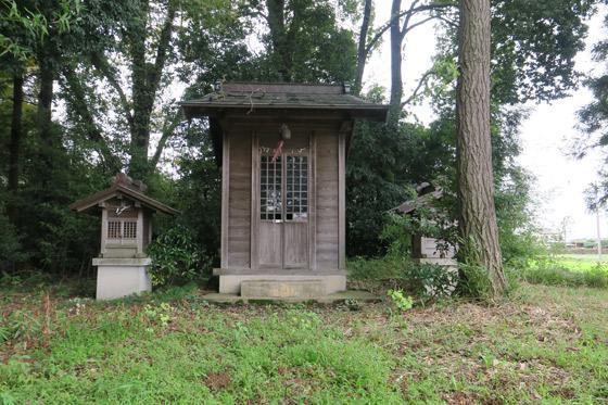 八幡社の本殿