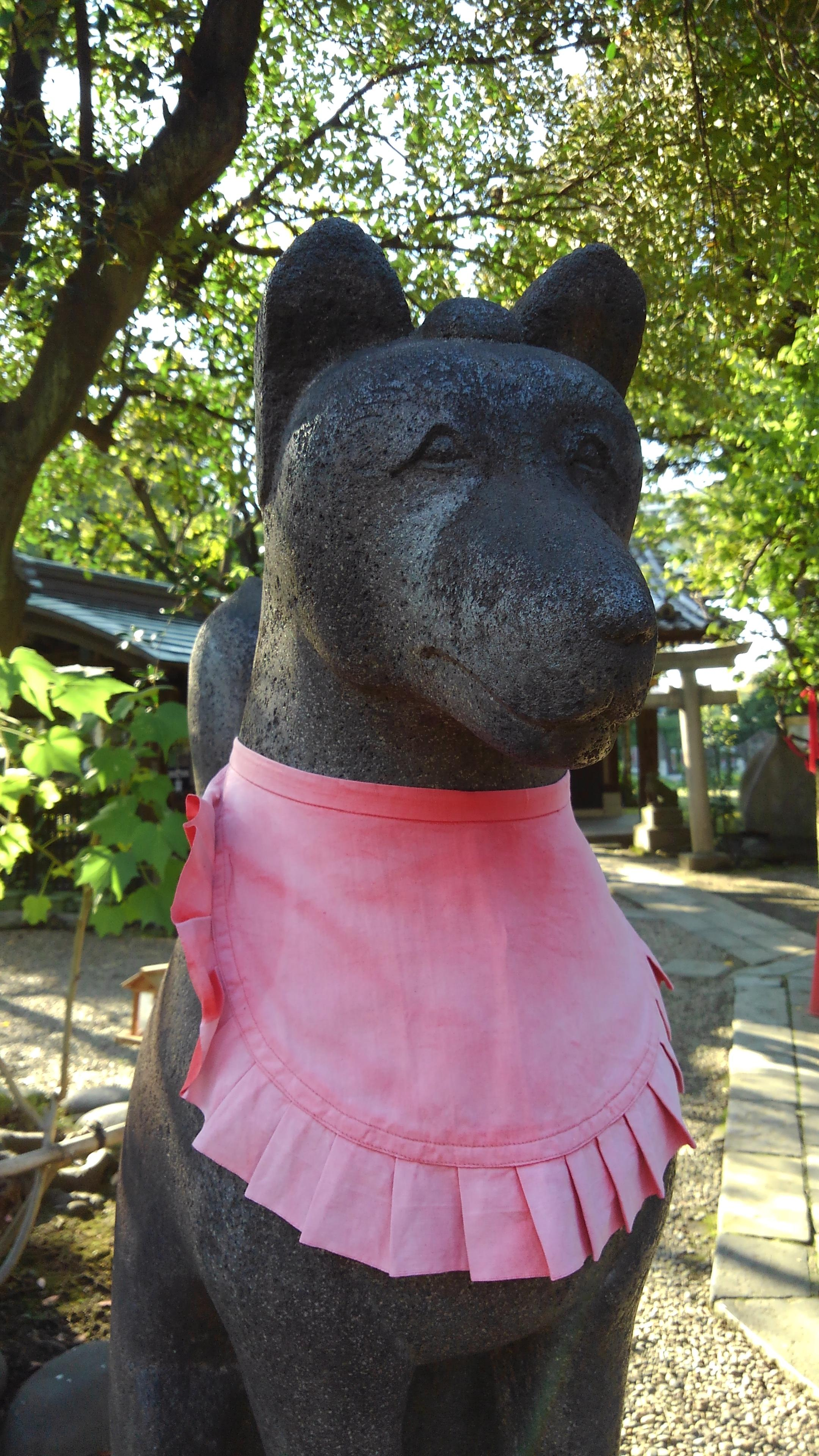 三囲神社(三越神社)の狛犬