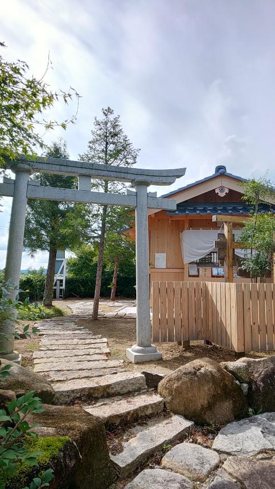龍馬神社の境内・文化財