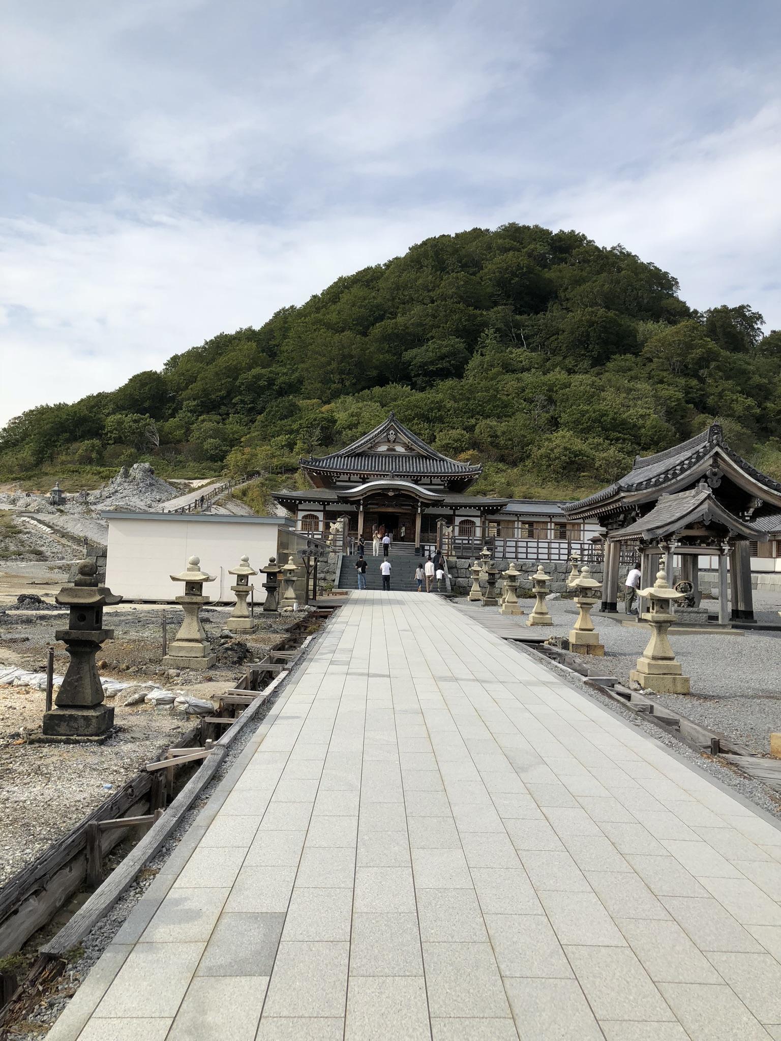 菩提寺(恐山)の境内・文化財
