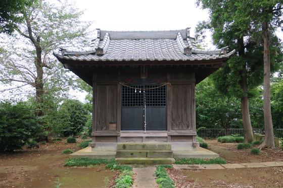 下野田稲荷神社の本殿