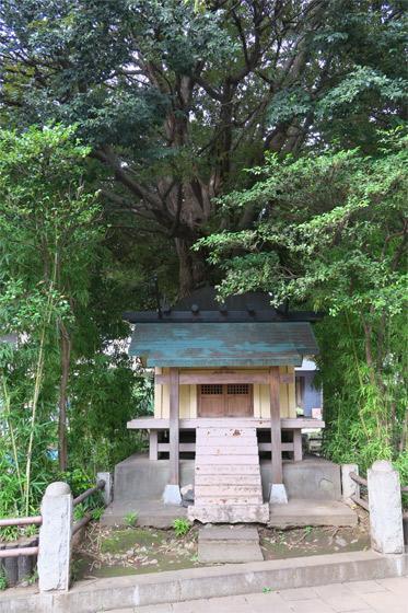 埼玉忠魂社の本殿