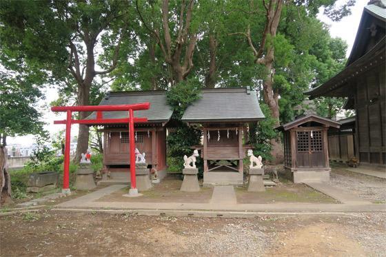 神明社の末社(埼玉県南浦和駅)