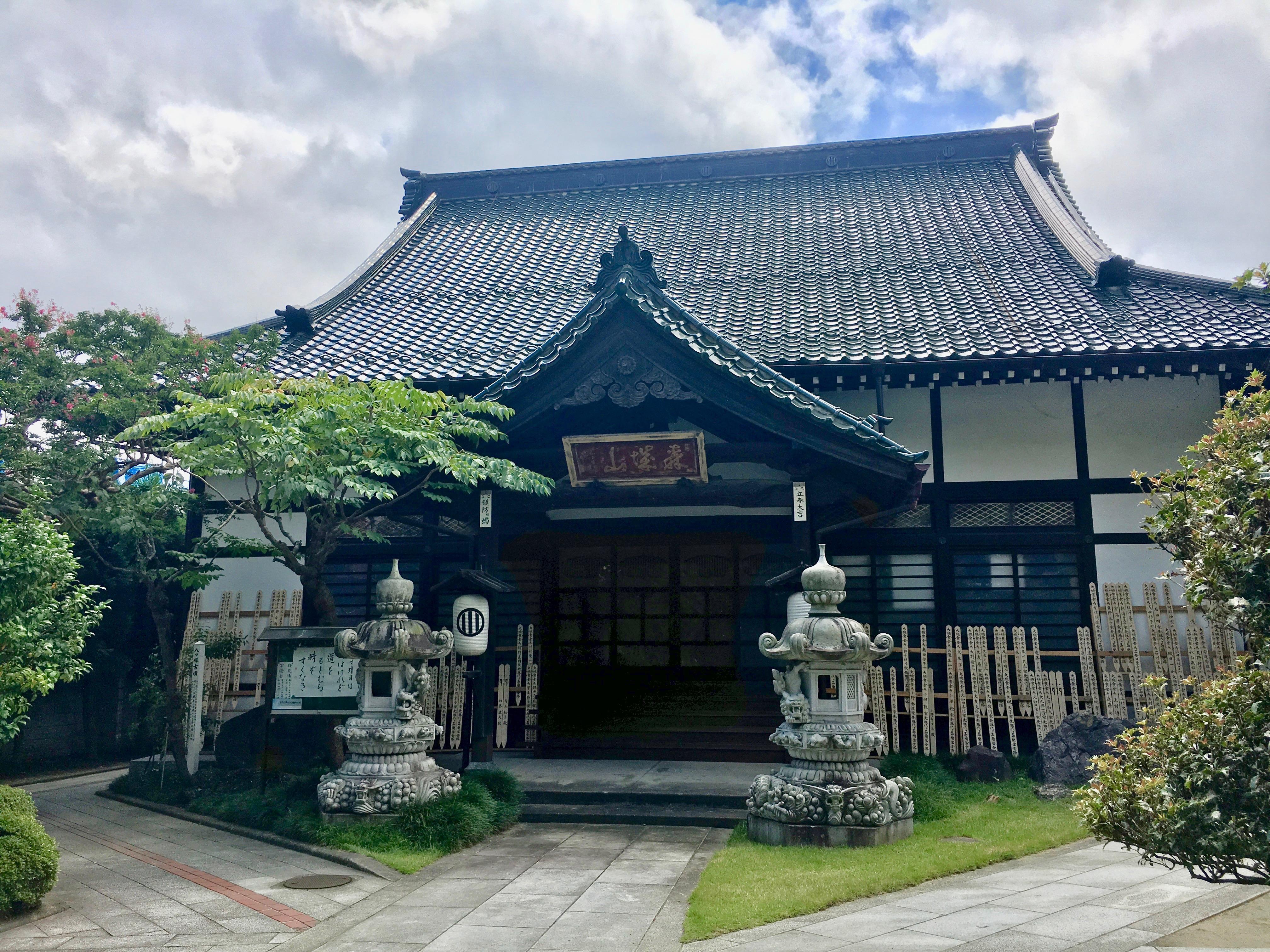 大林寺の本殿(宮城県榴ケ岡駅)