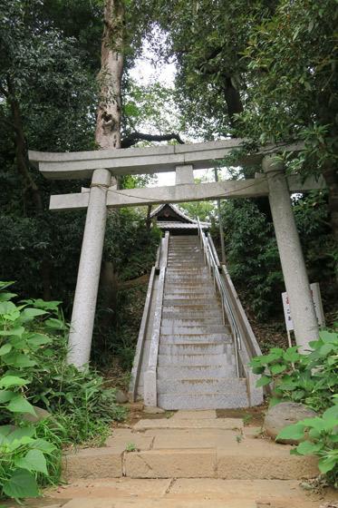 睦神社の鳥居