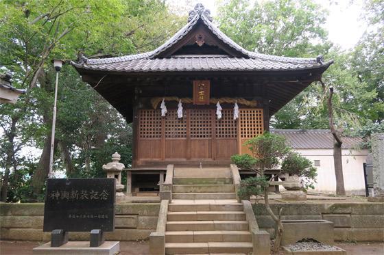 睦神社の本殿