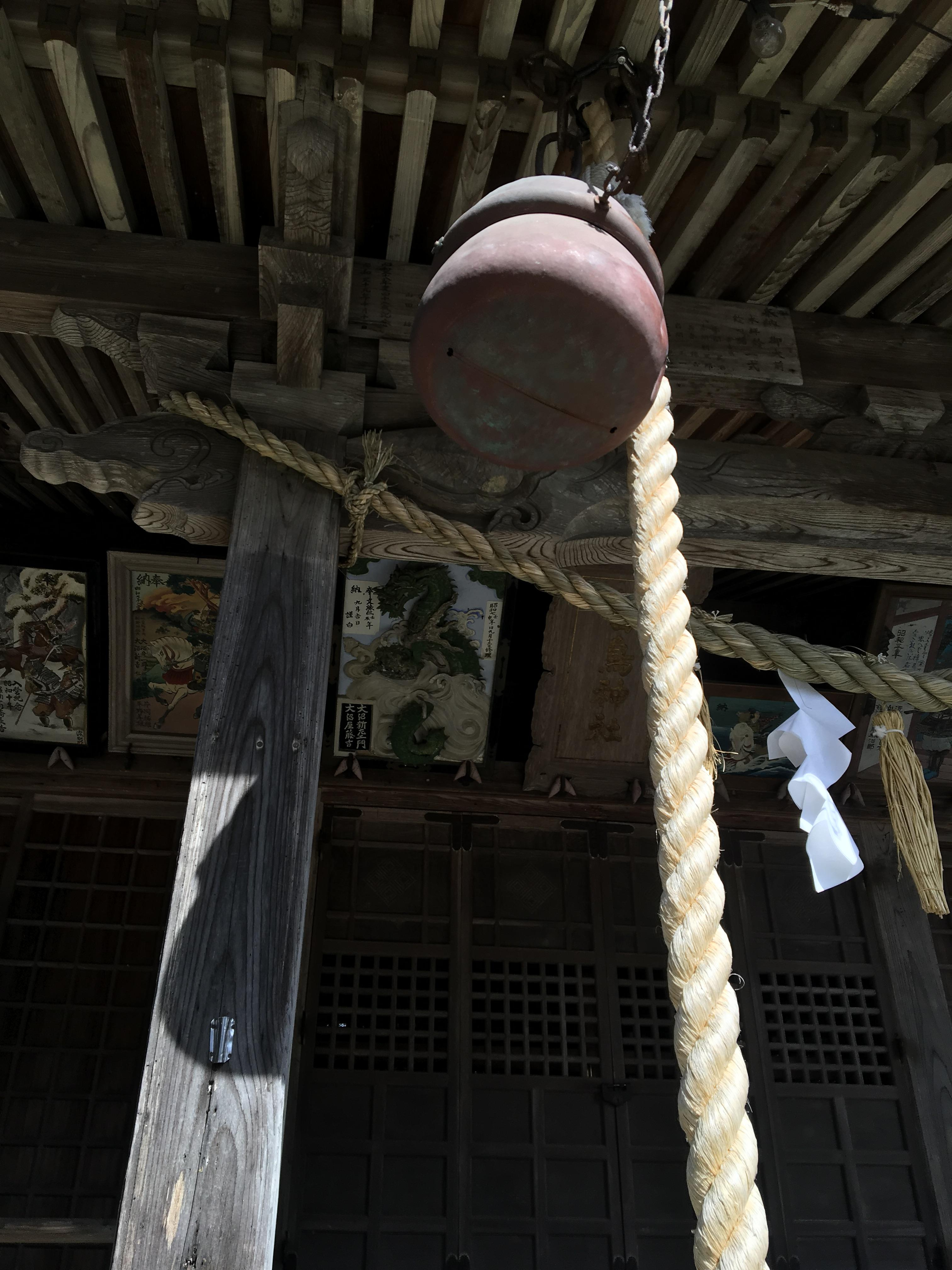 白鳥神社の境内・文化財