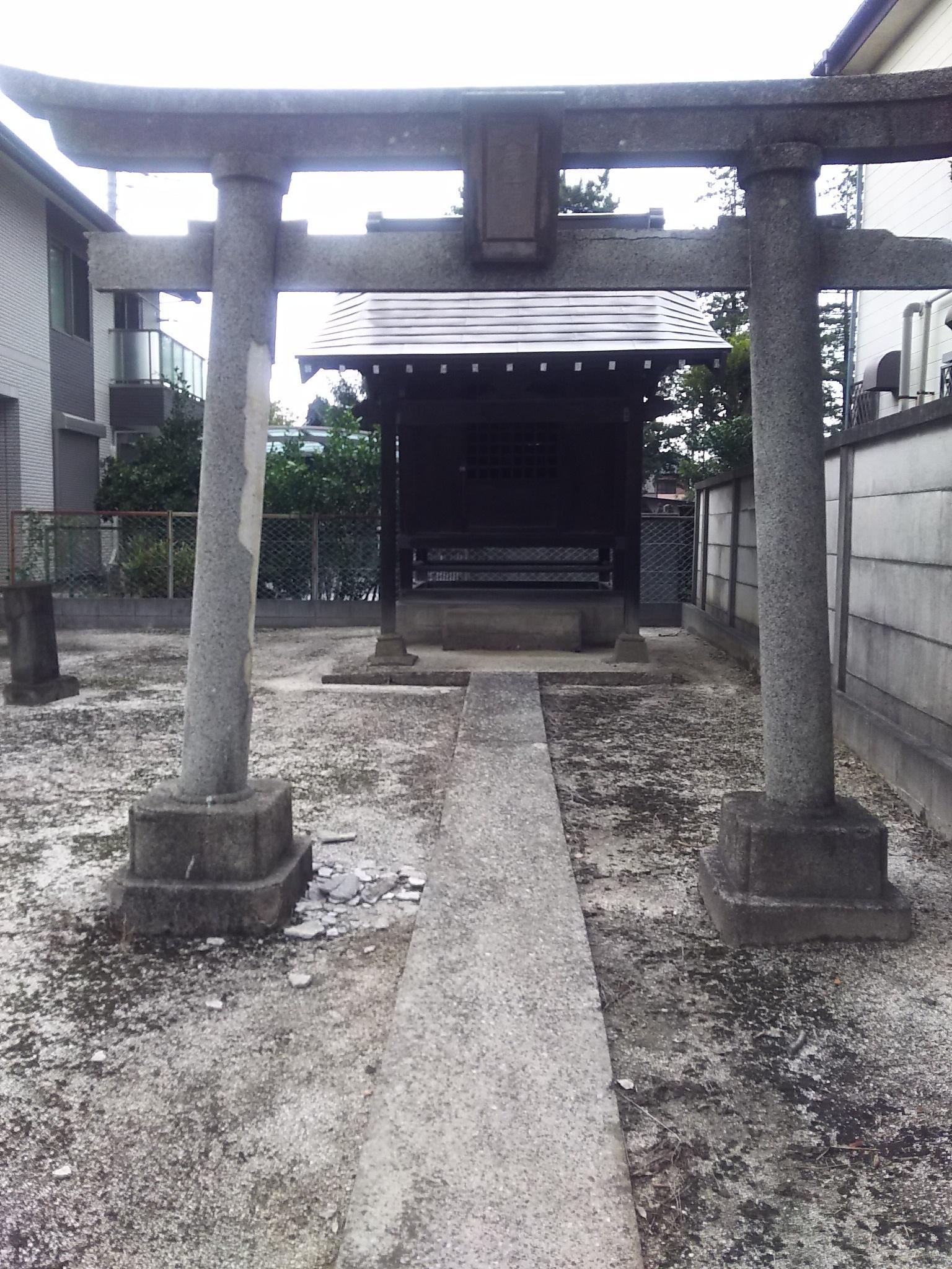 久伊豆神社の鳥居
