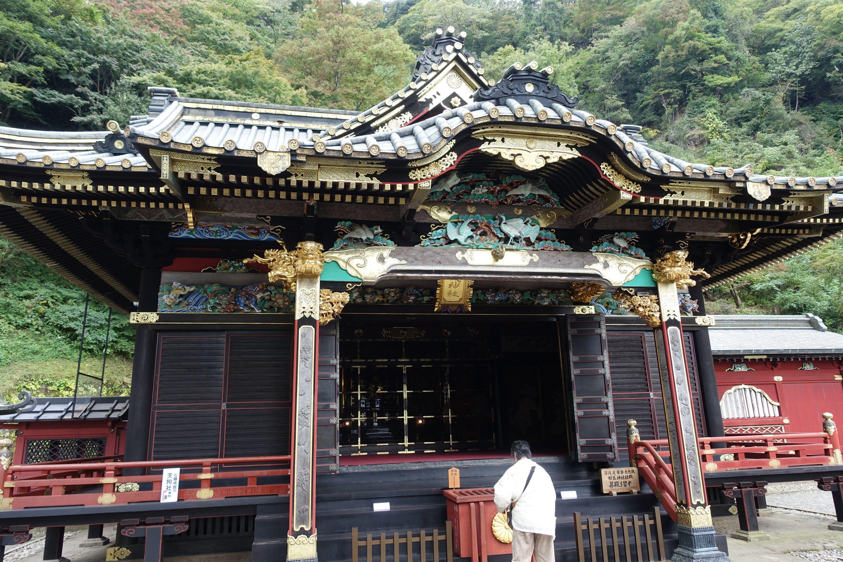 妙義神社の本殿・本堂(群馬県西松井田駅)