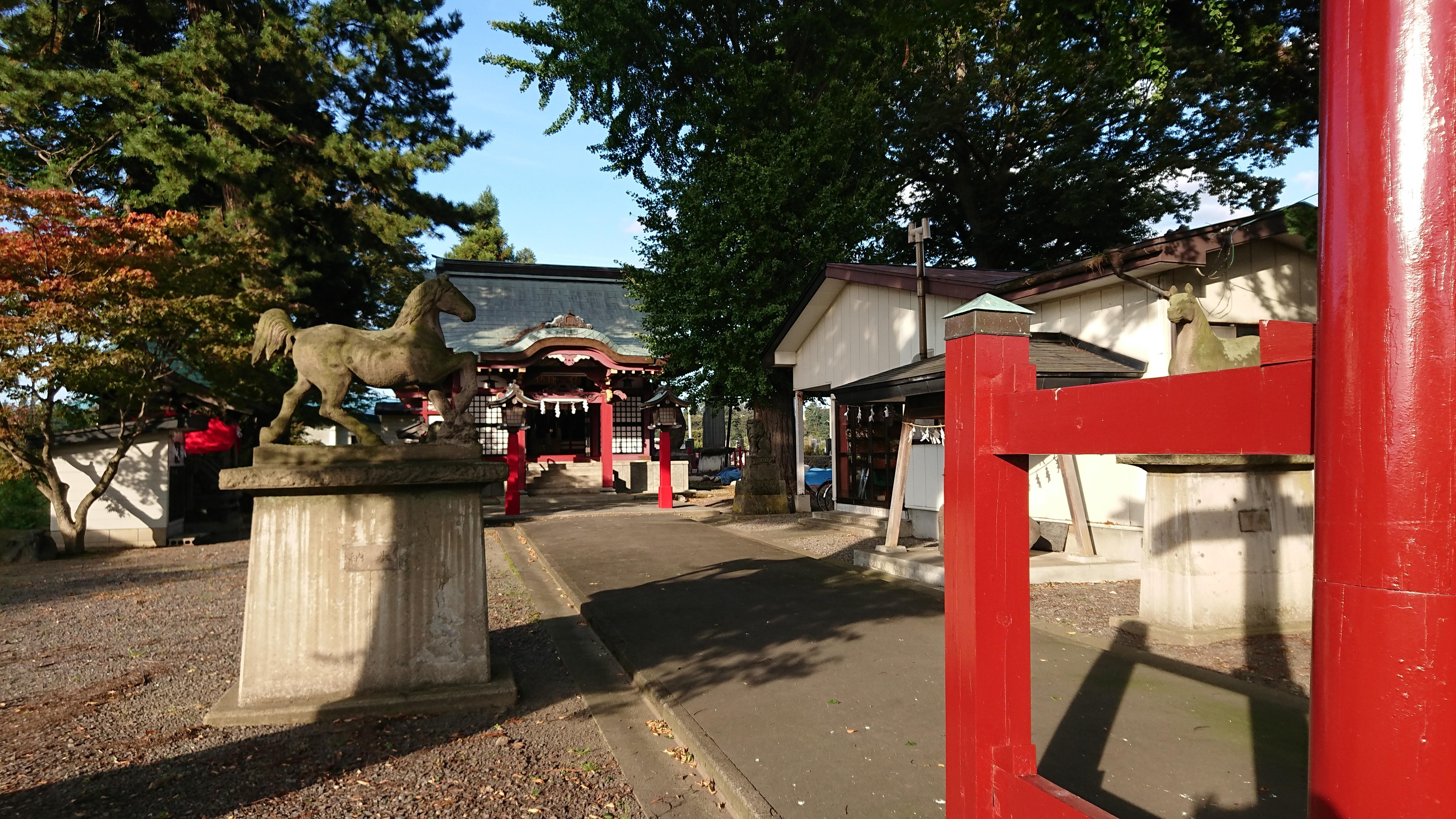 羽黒神社の境内・文化財