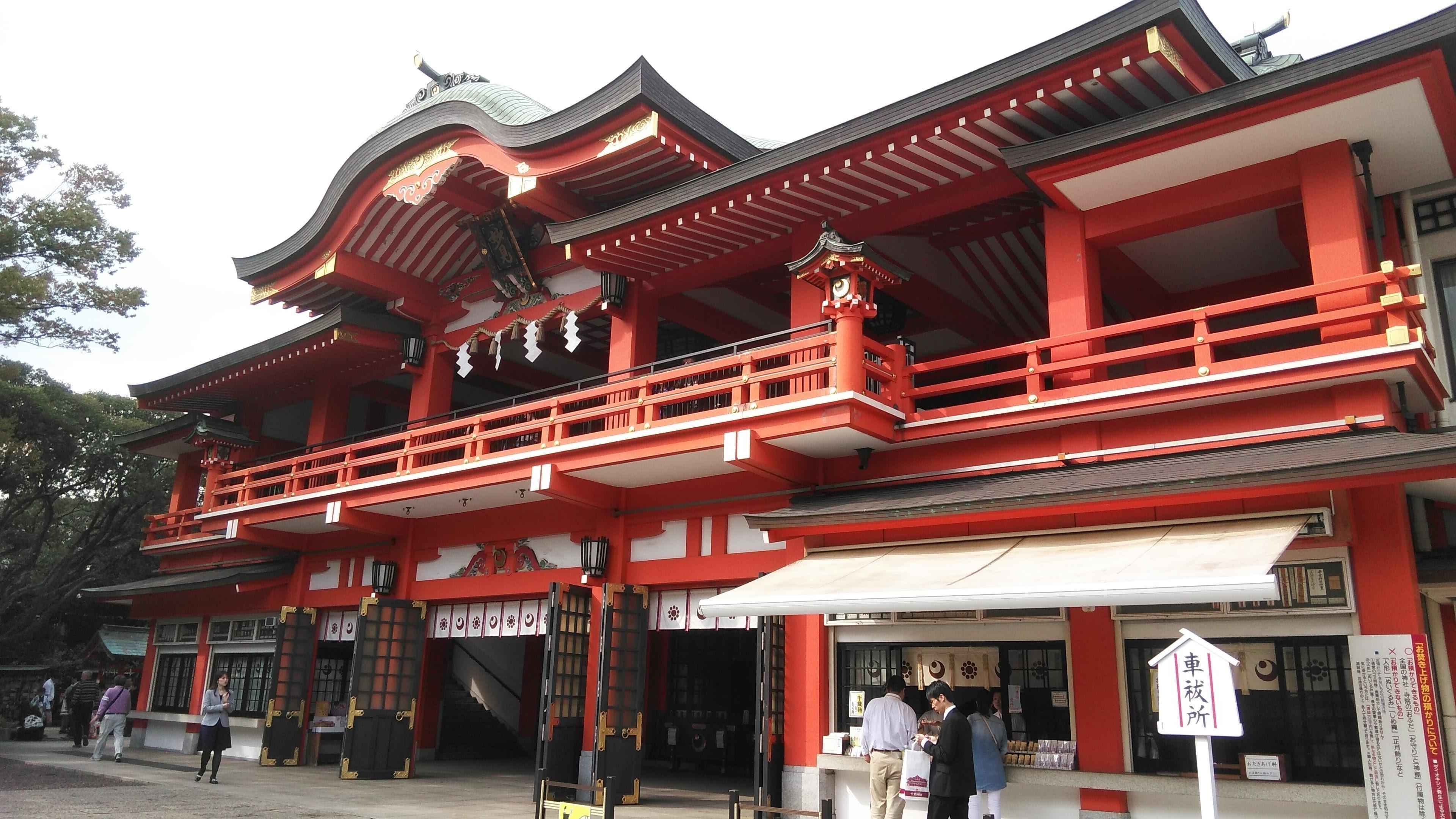 千葉神社の本殿