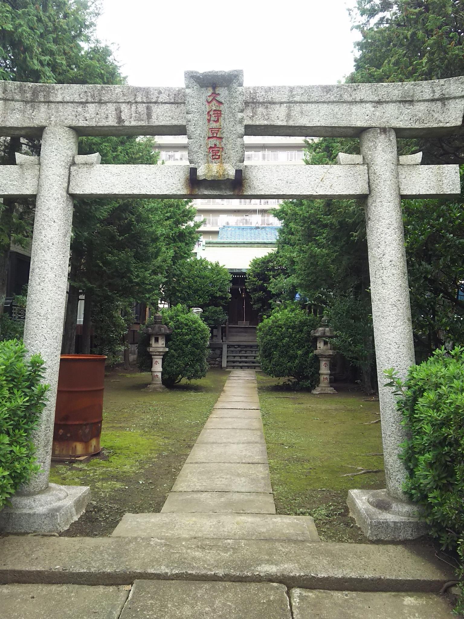 久伊豆神社(久伊豆宮寿神社)の鳥居