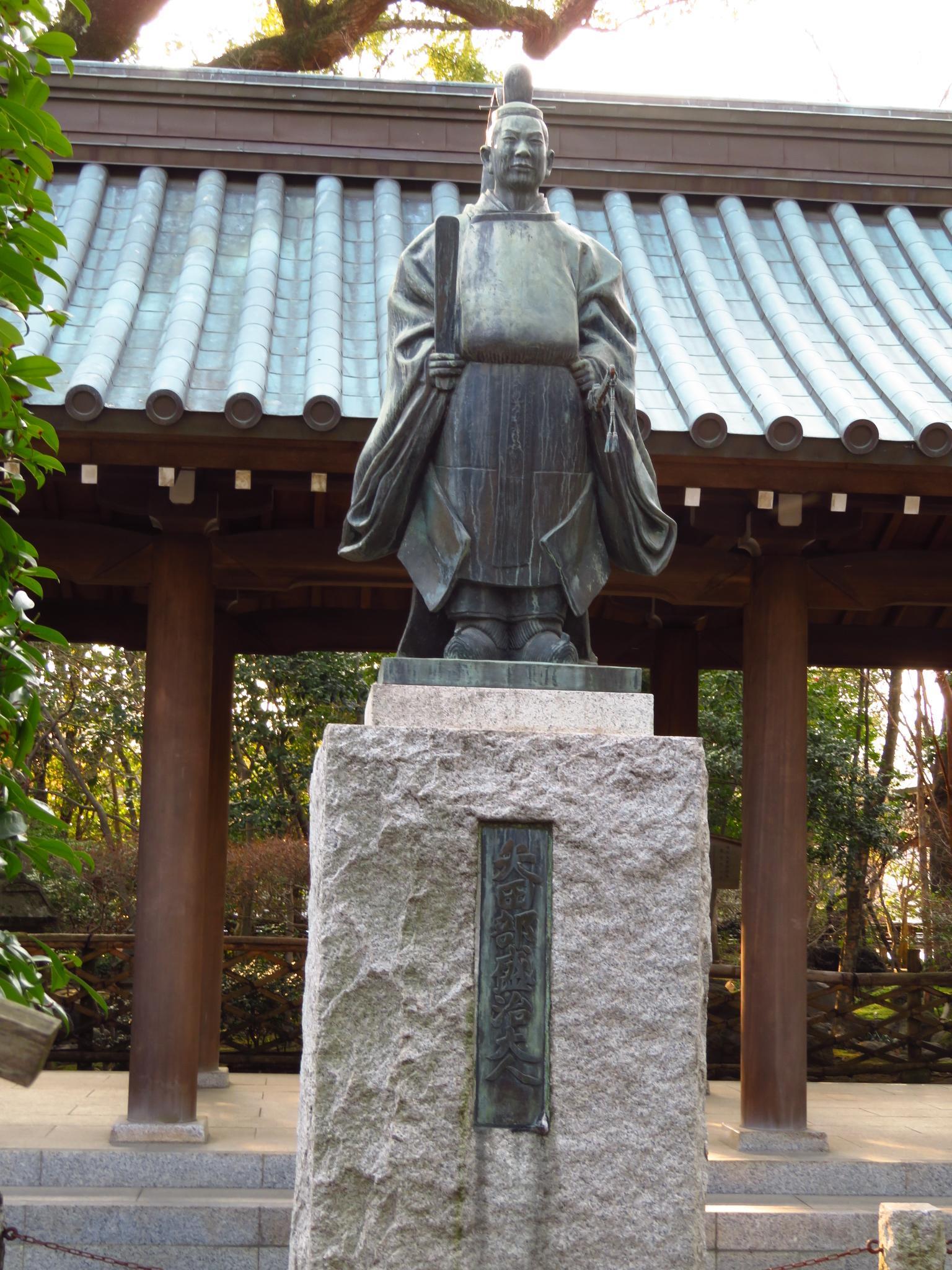 三嶋大社の像