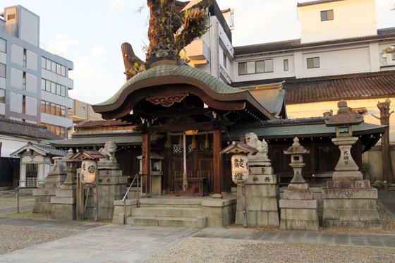 大将軍神社の本殿(京都府東山駅)