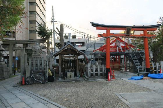 大将軍神社の鳥居(京都府東山駅)