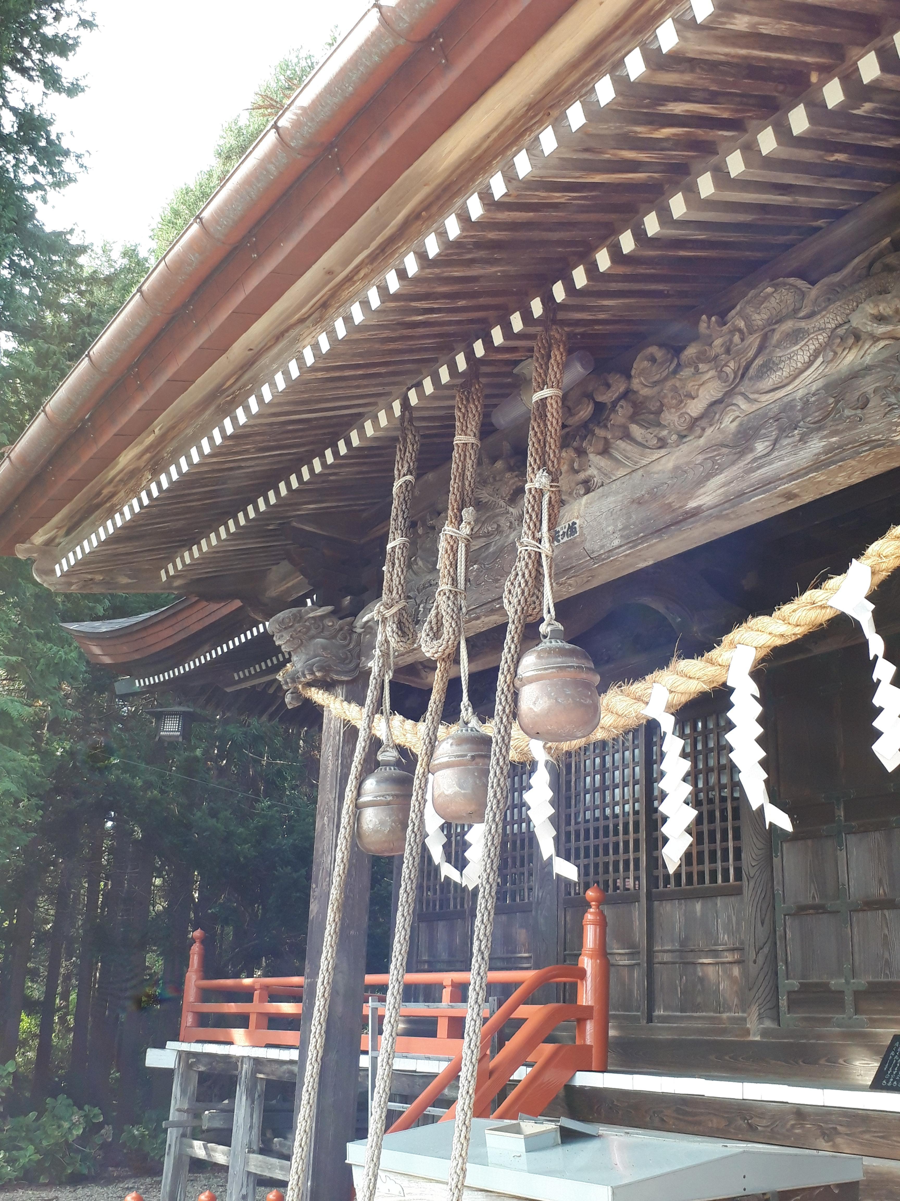 鼬幣稲荷神社の本殿(岩手県花巻駅)