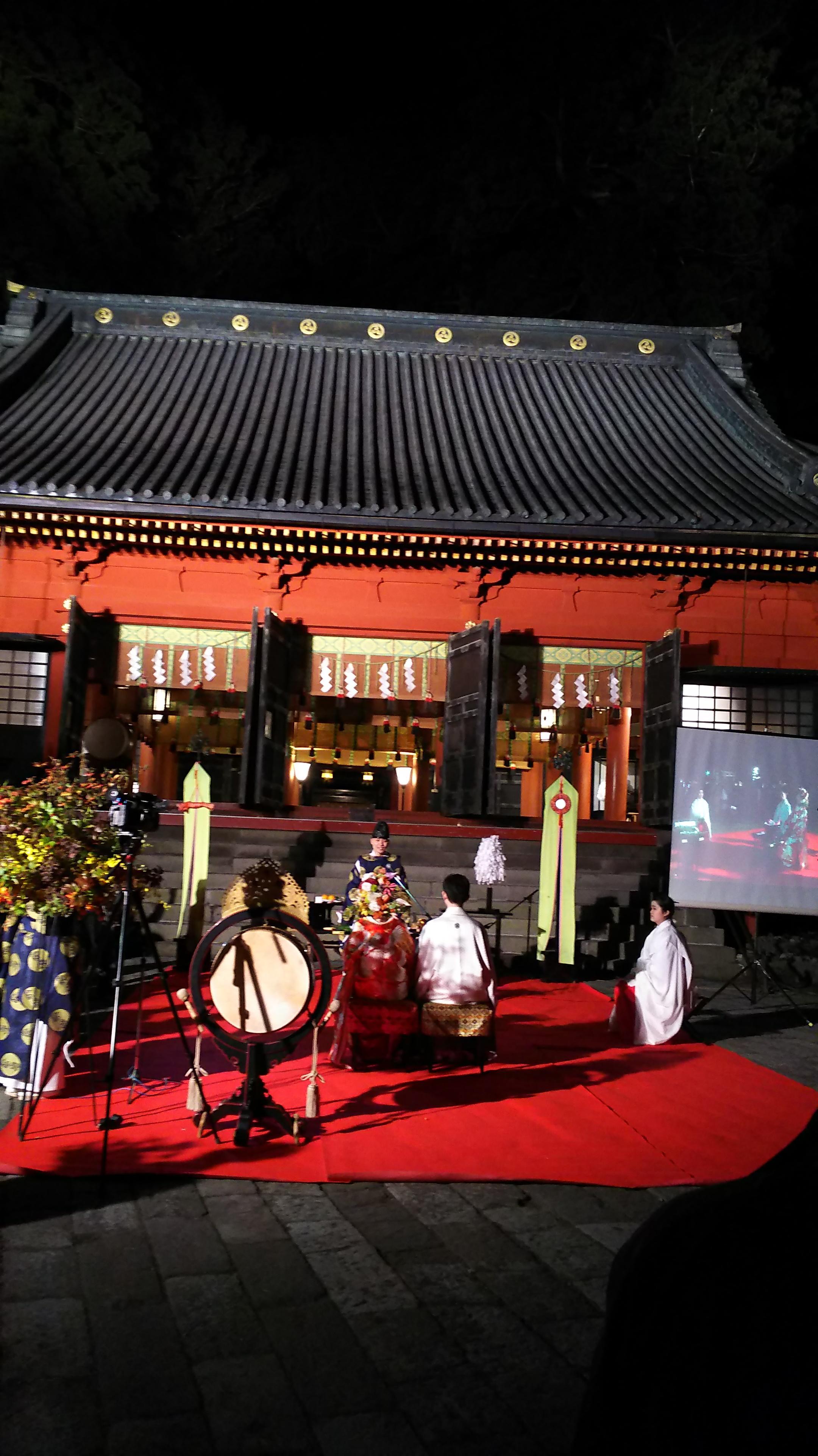 日光二荒山神社の結婚式