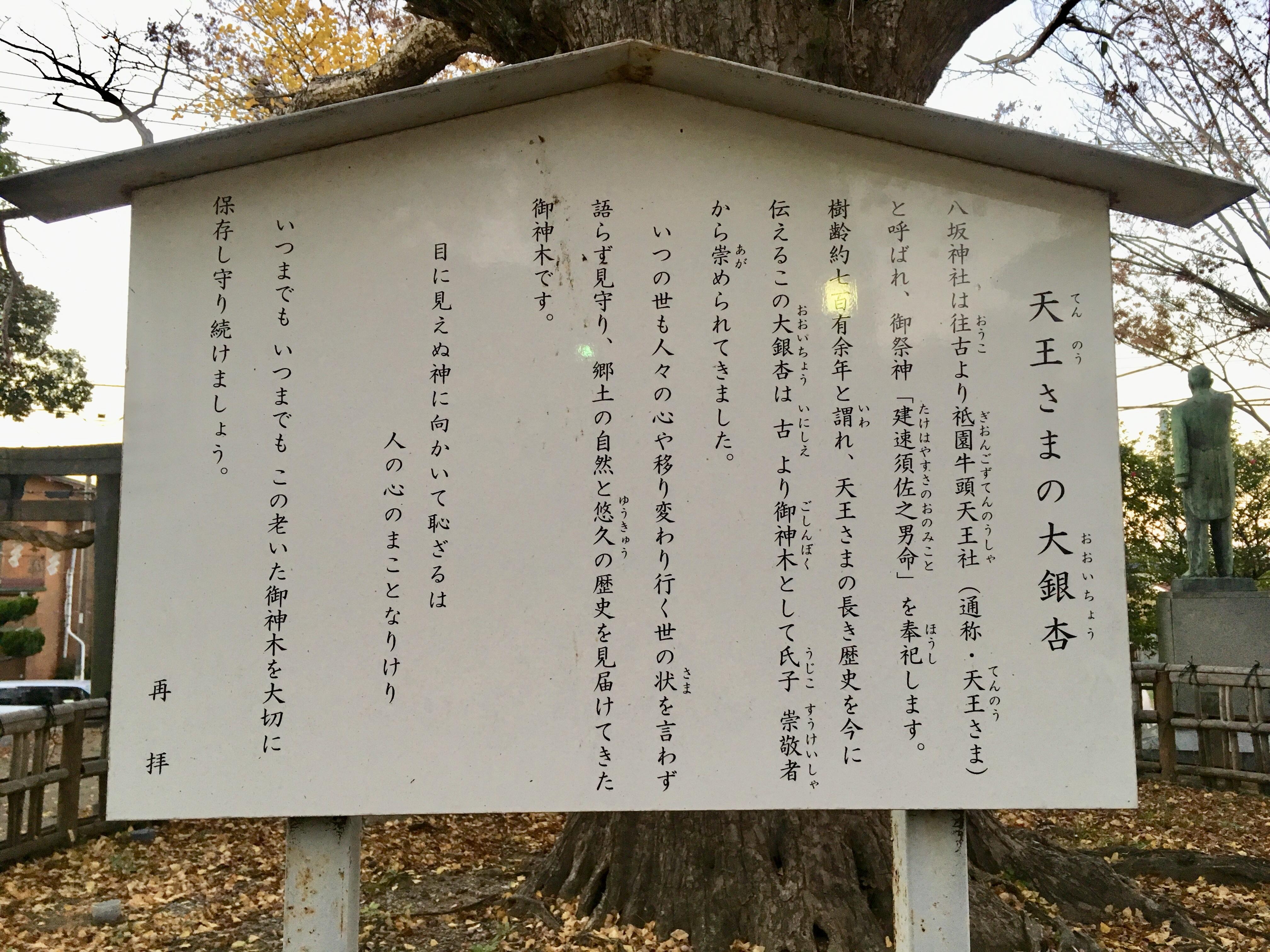 八坂神社の歴史(千葉県姉ケ崎駅)