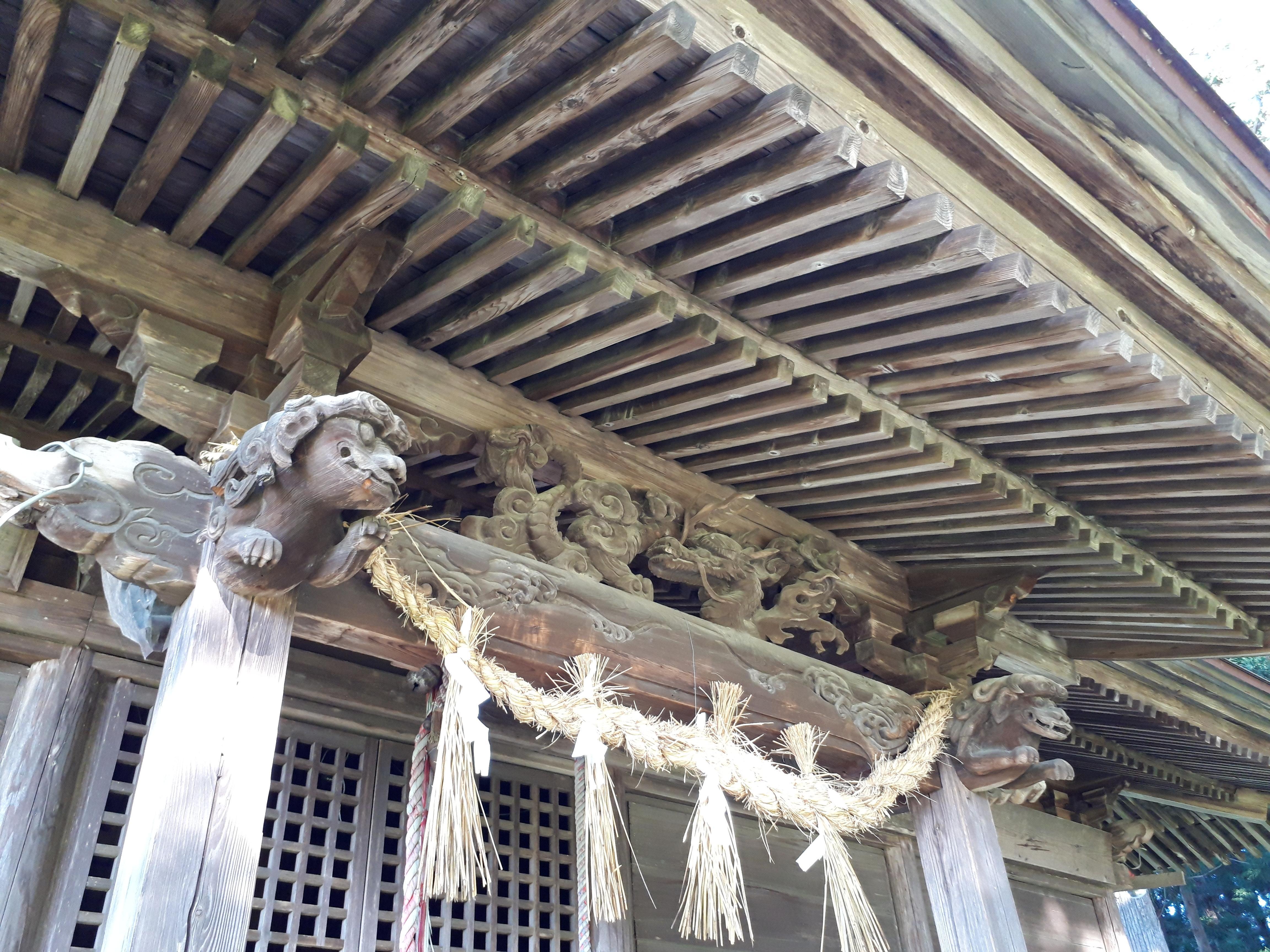 熊野神社の芸術