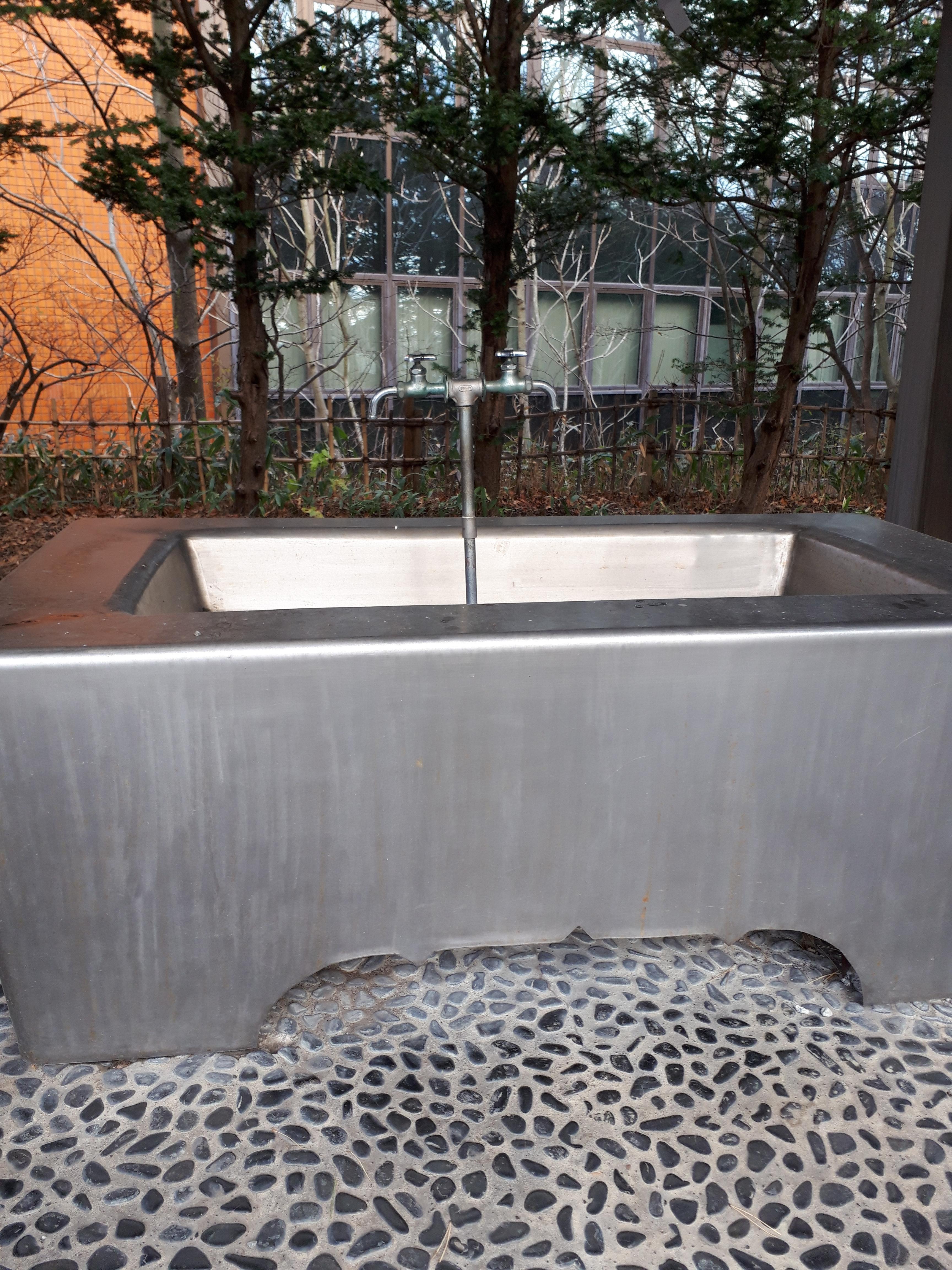 江別神社の手水