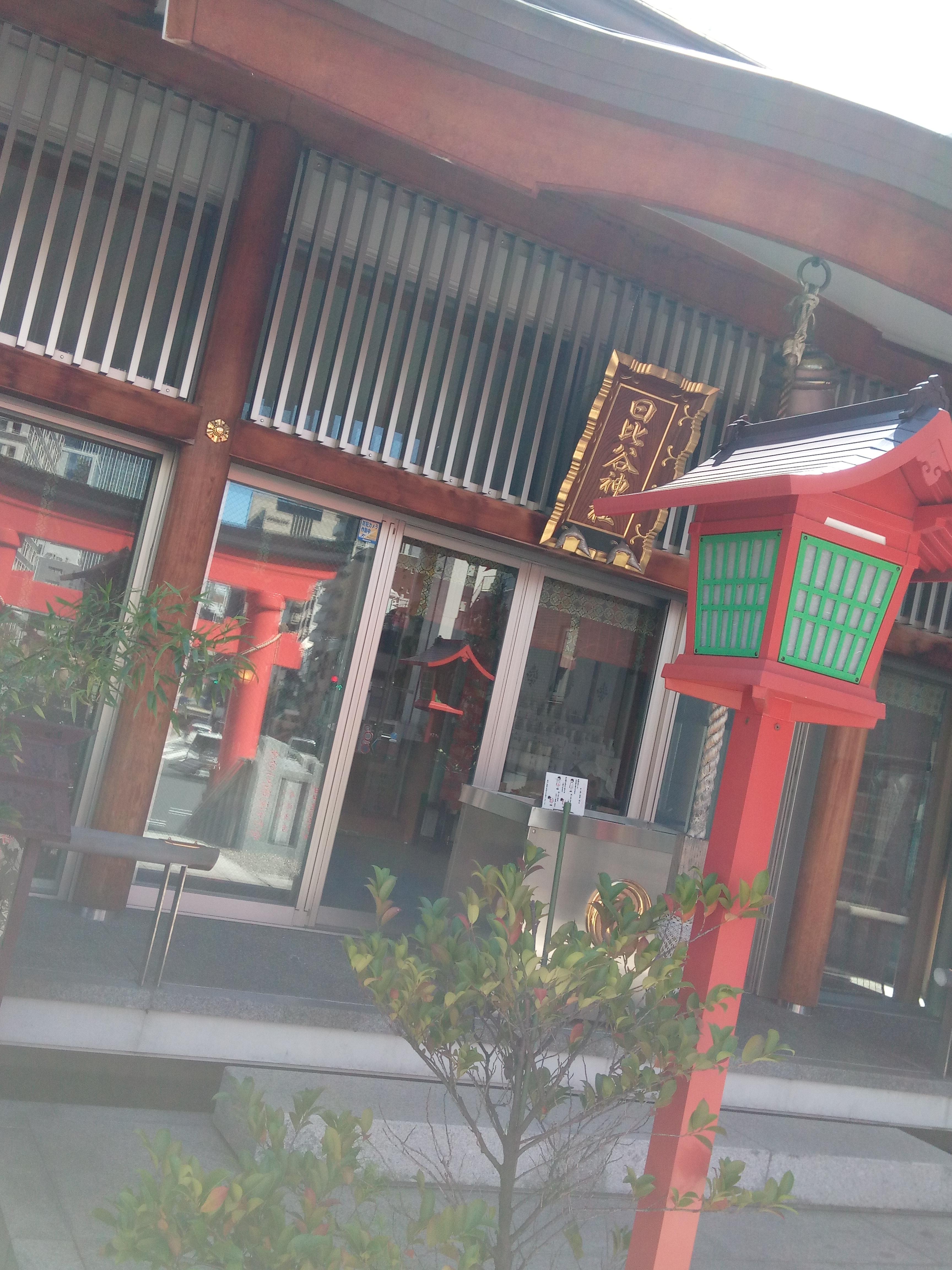日比谷神社の山門