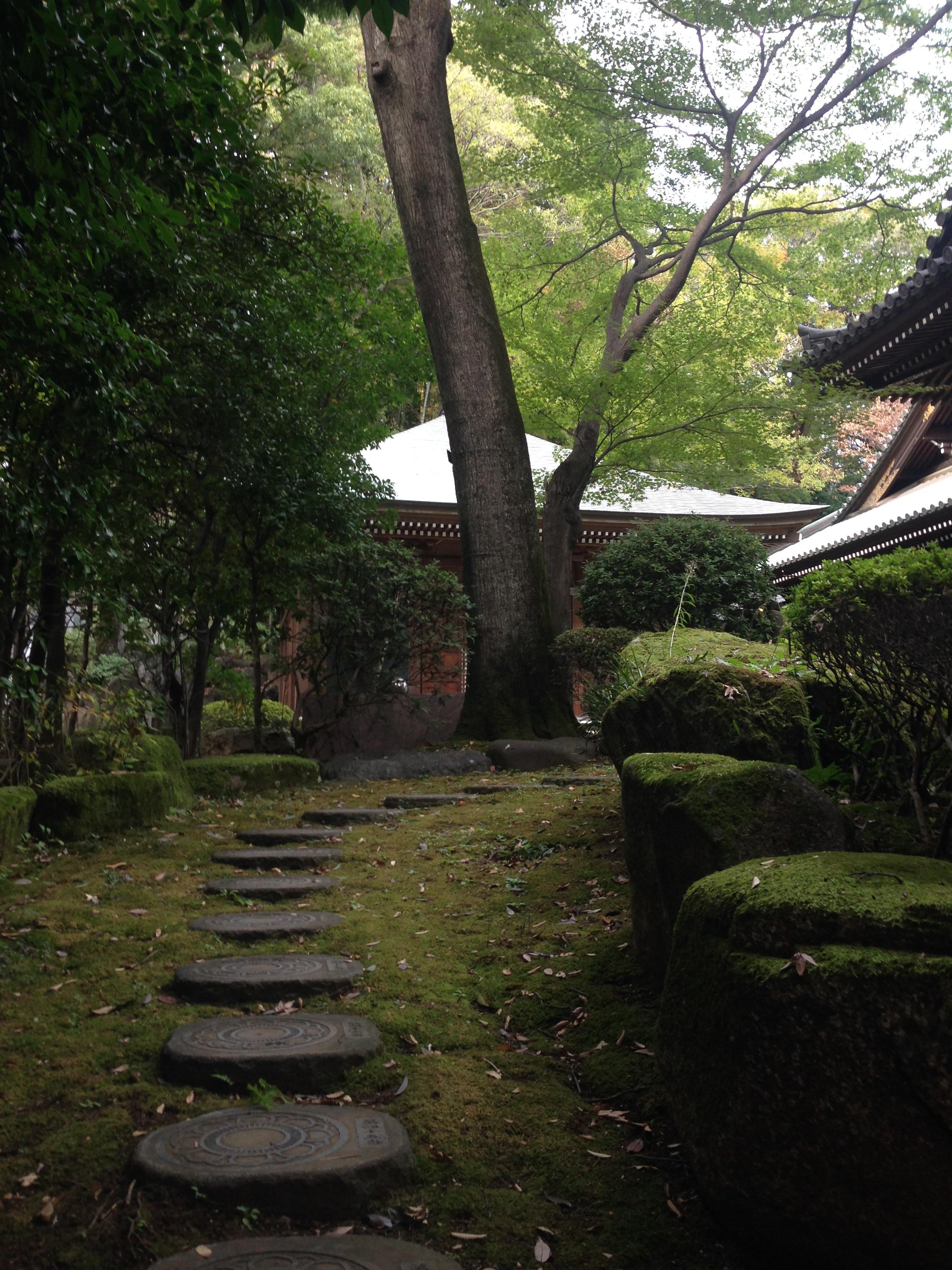 安養院の庭園