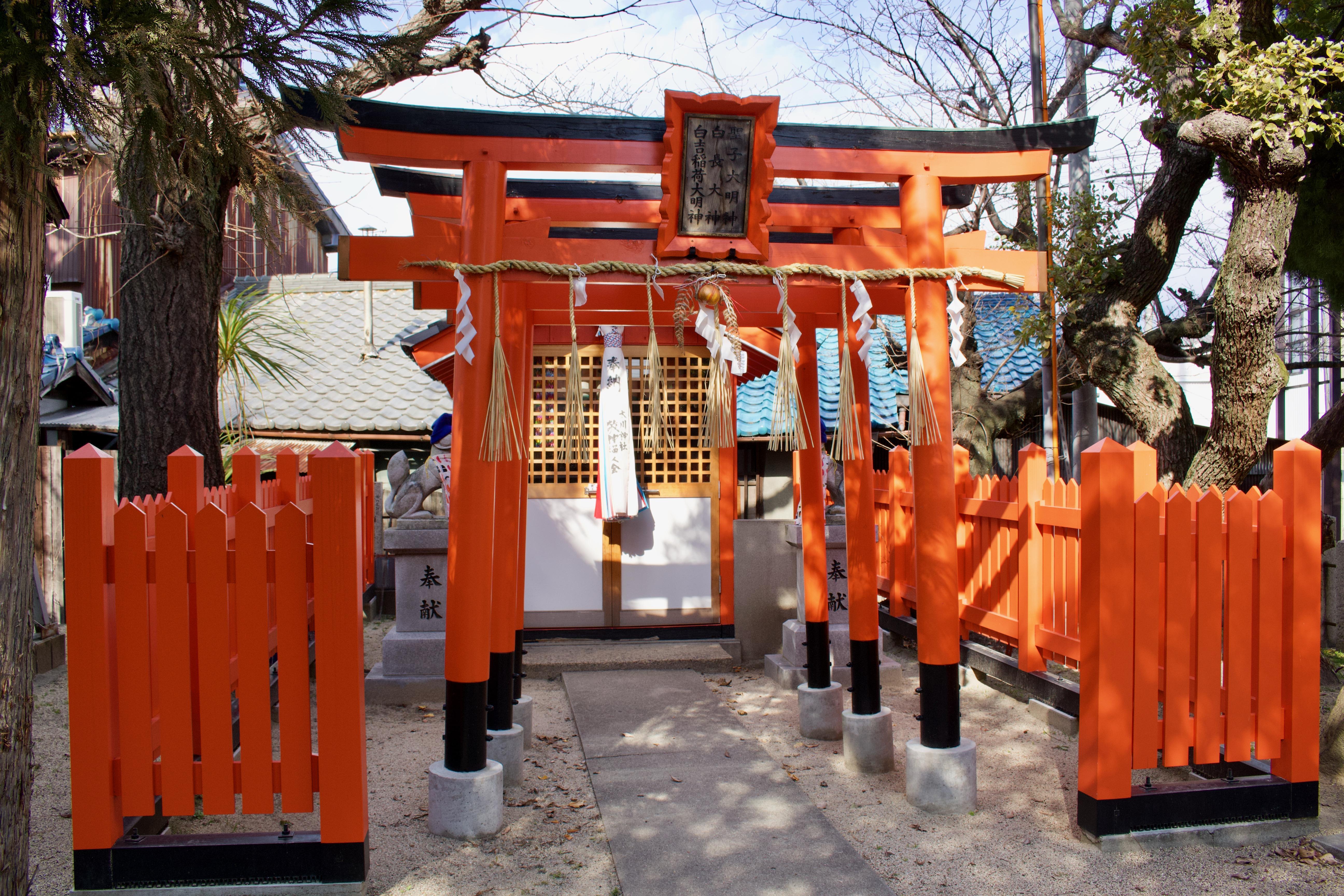 太川神社の鳥居