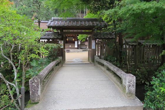 宇治上神社の山門