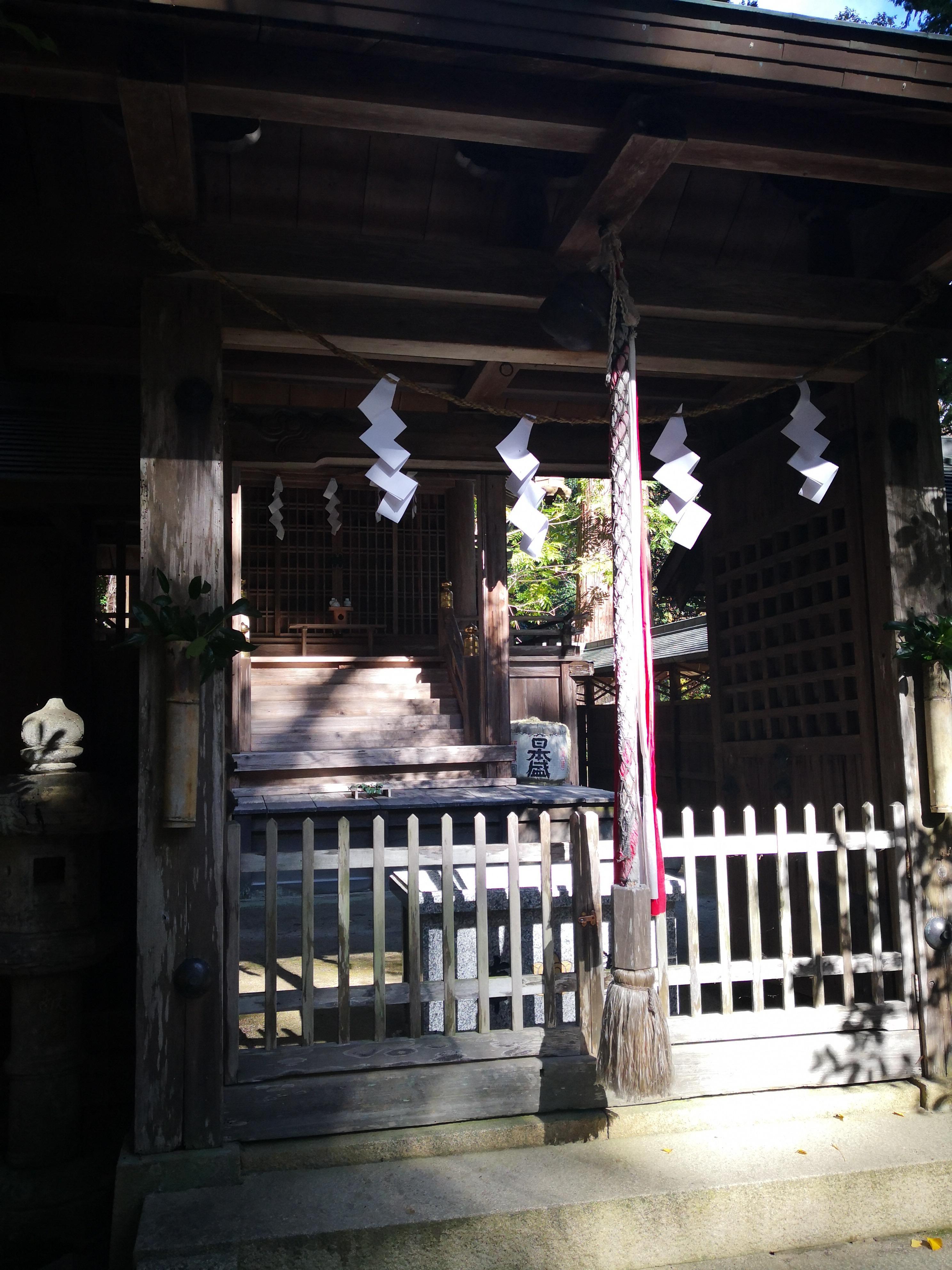 久佐々神社の本殿