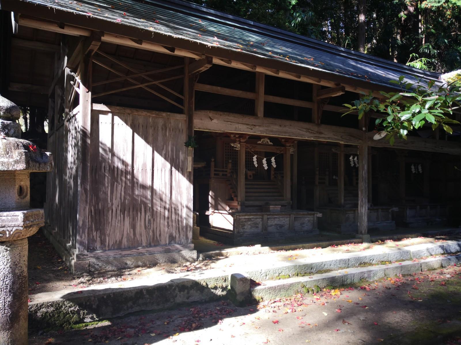 久佐々神社の末社